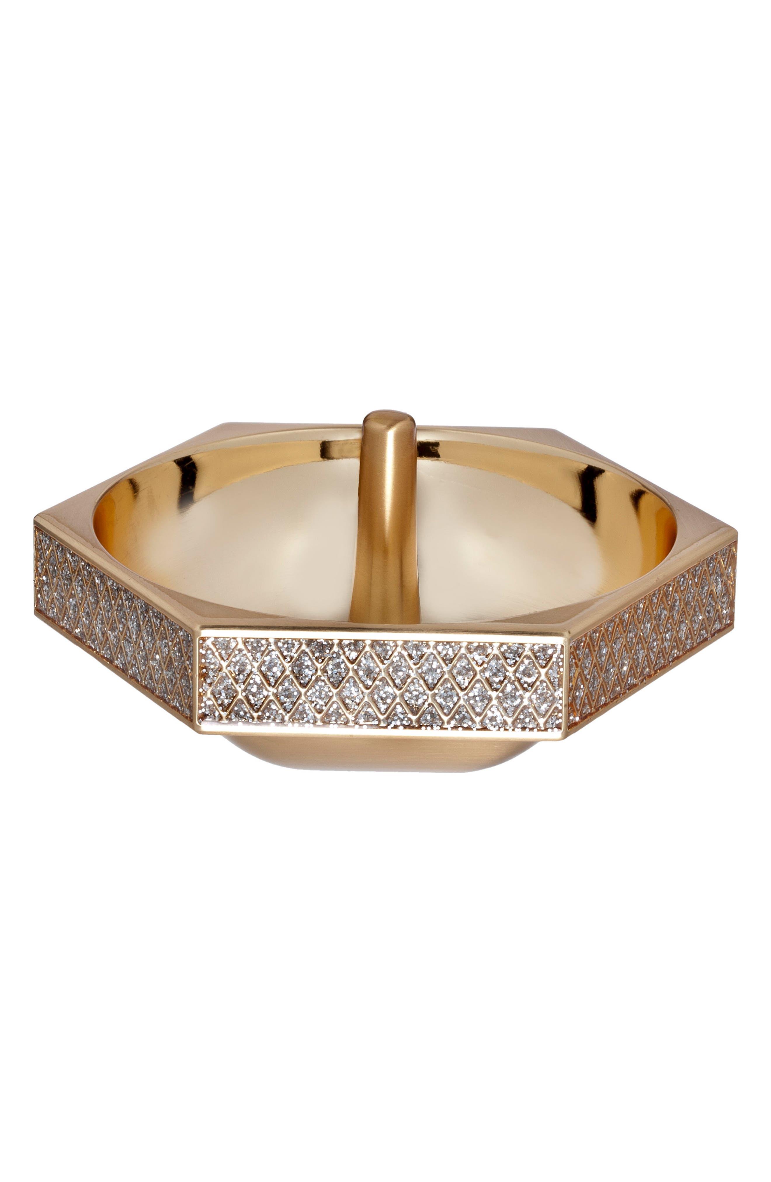 Alternate Image 1 Selected - Waterford Lismore Diamond Gold Ring Holder