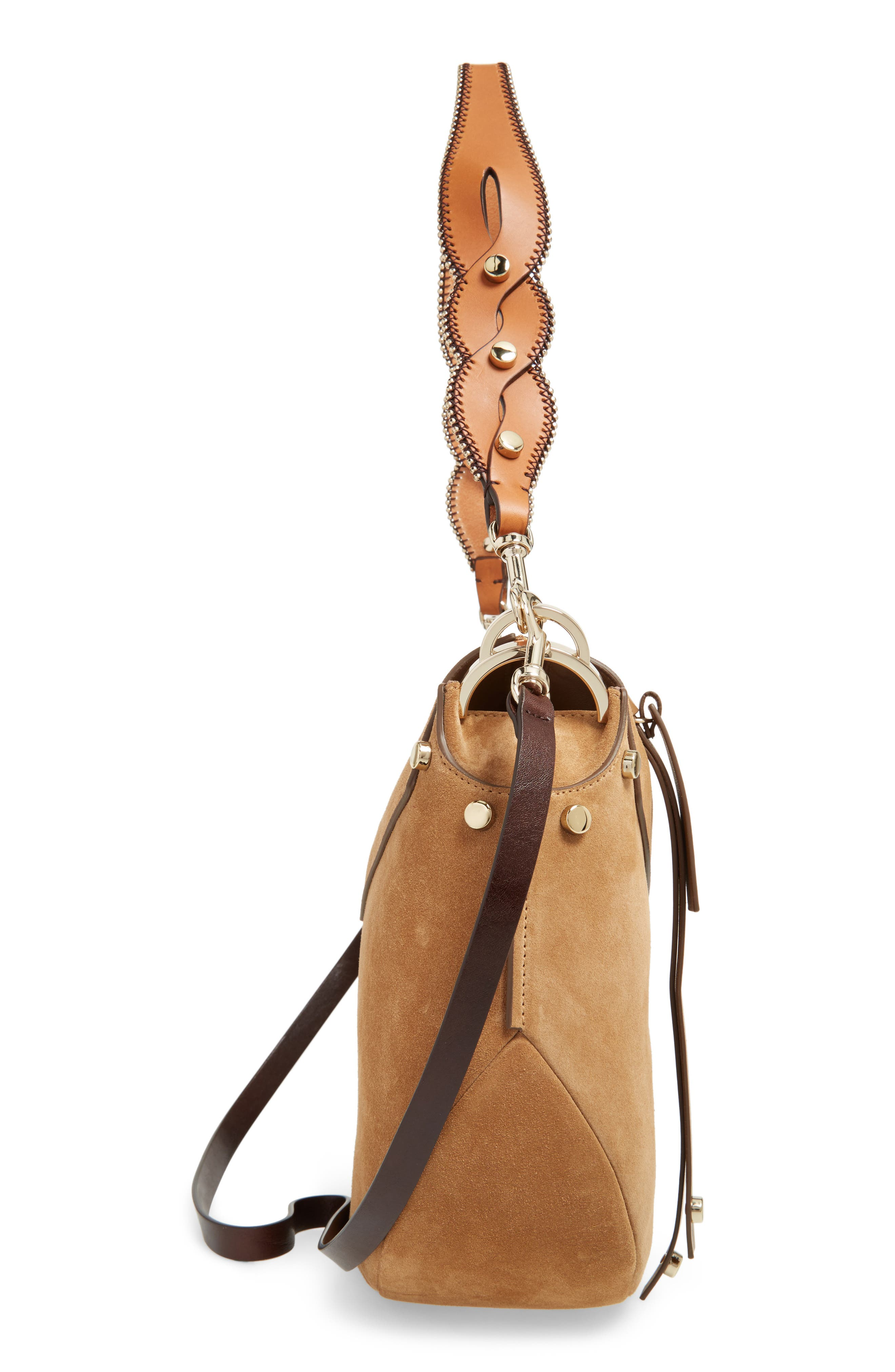 Alternate Image 5  - Jimmy Choo Artie Suede Hobo Bag