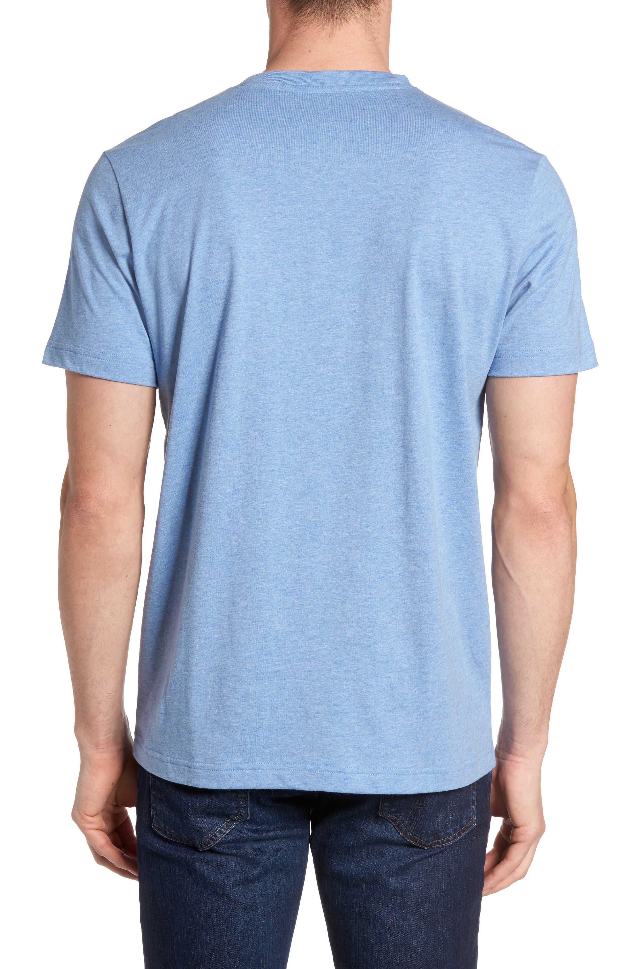 Alternate Image 2  - Psycho Bunny Classic V-Neck T-Shirt