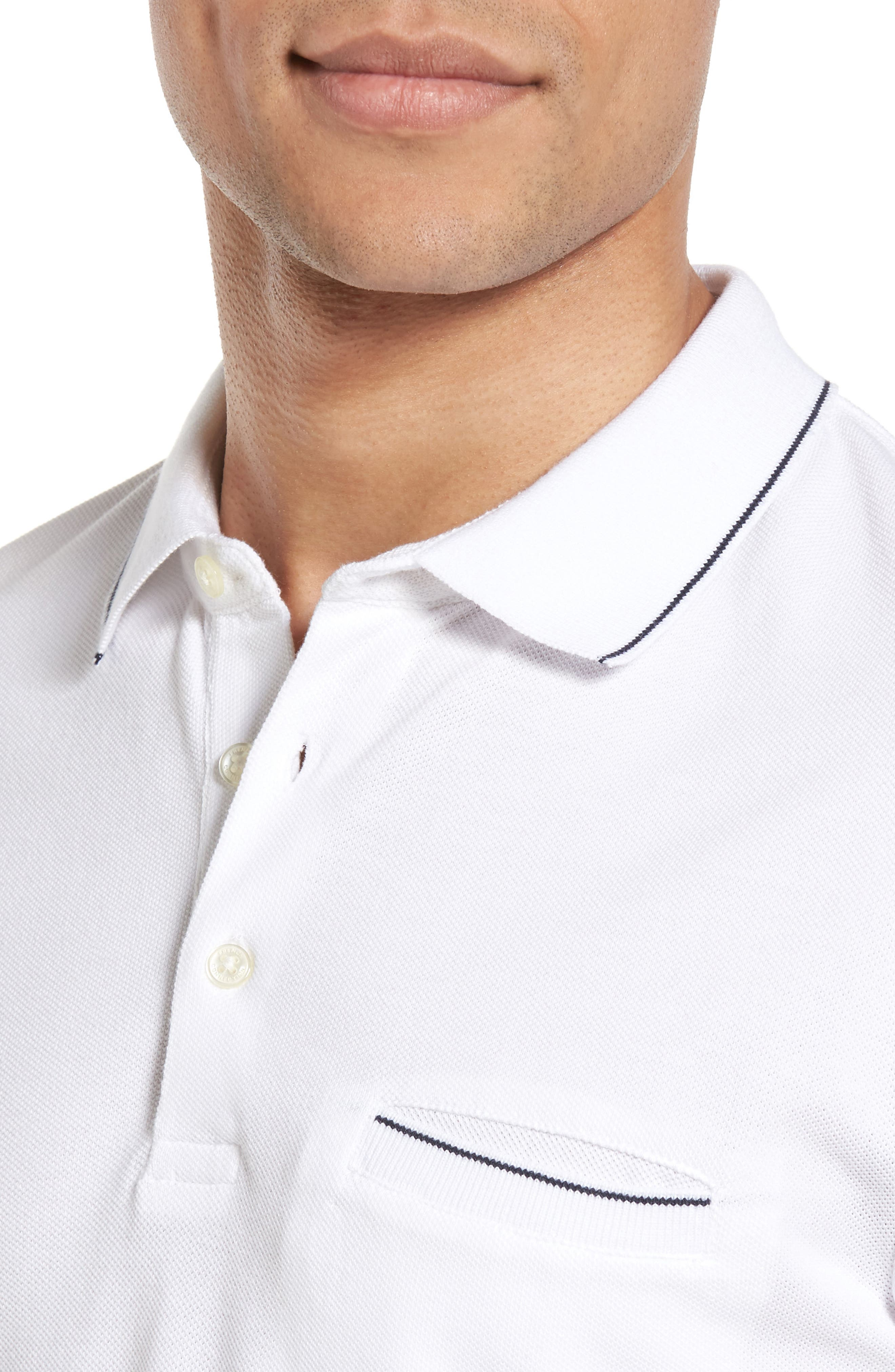 Alternate Image 4  - French Connection Piqué Polo
