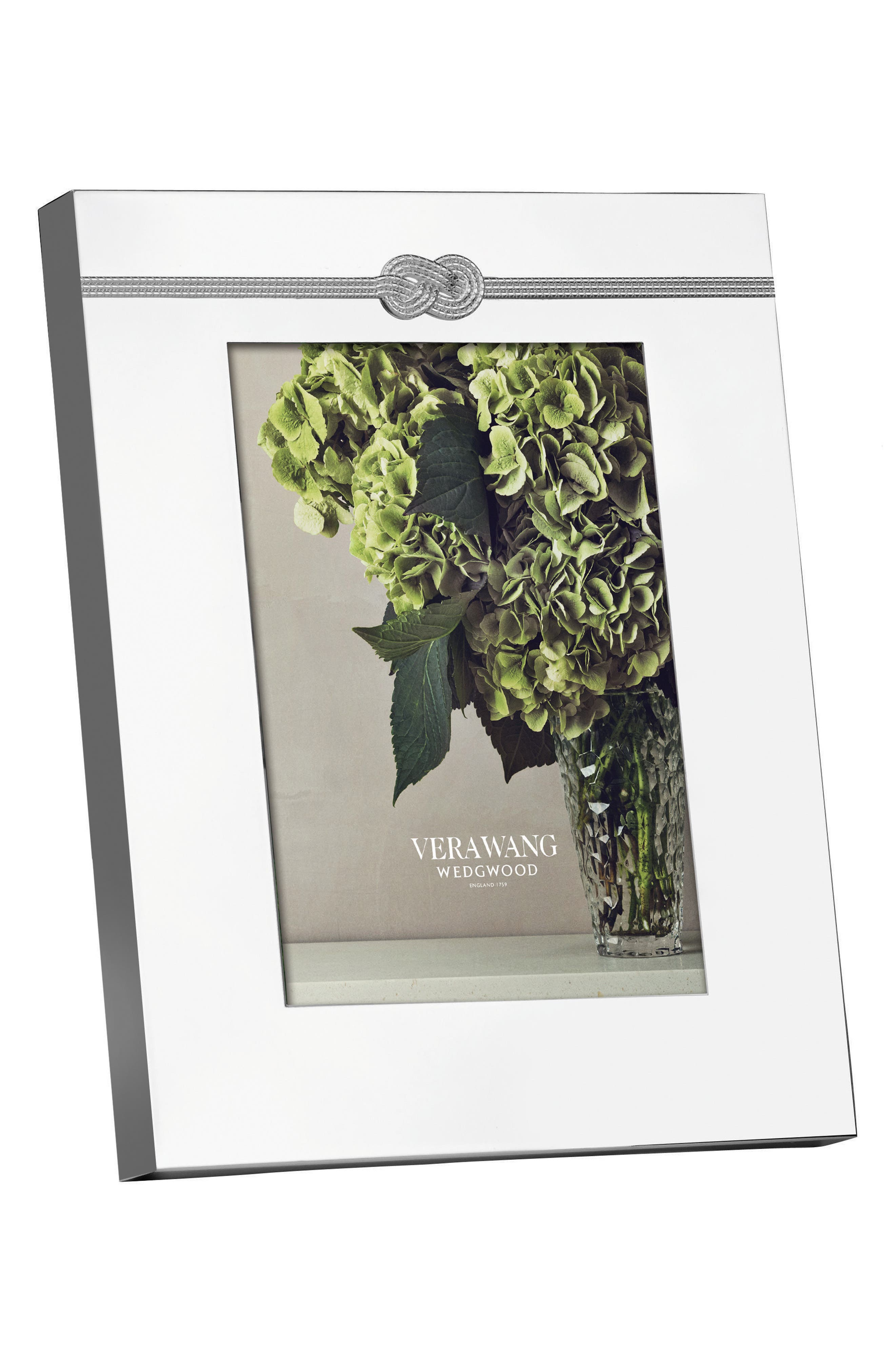 x Wedgewood Infinity Picture Frame,                             Alternate thumbnail 2, color,                             Metallic Silver