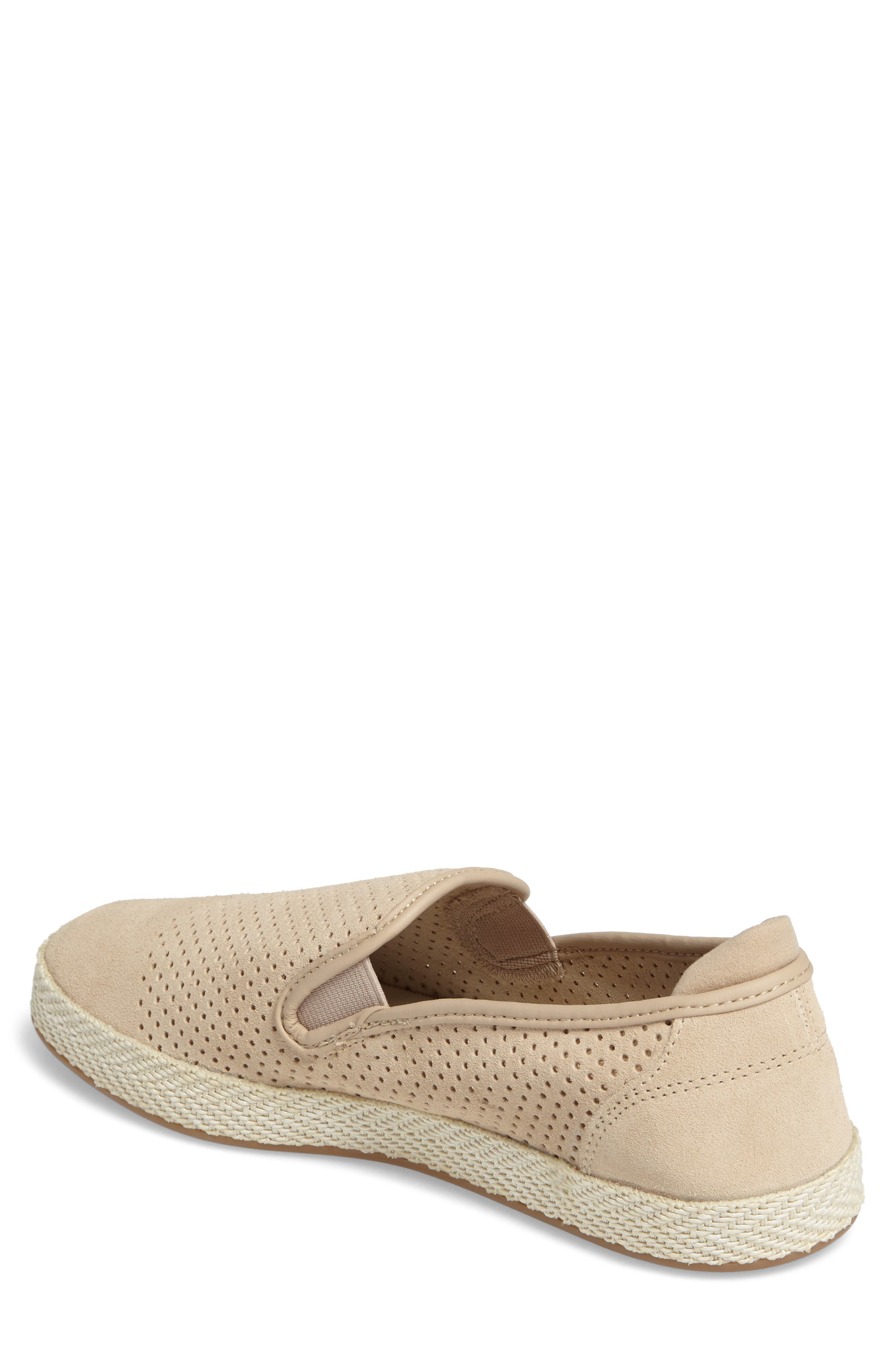 Tombre Slip-On,                             Alternate thumbnail 2, color,                             Natural Suede