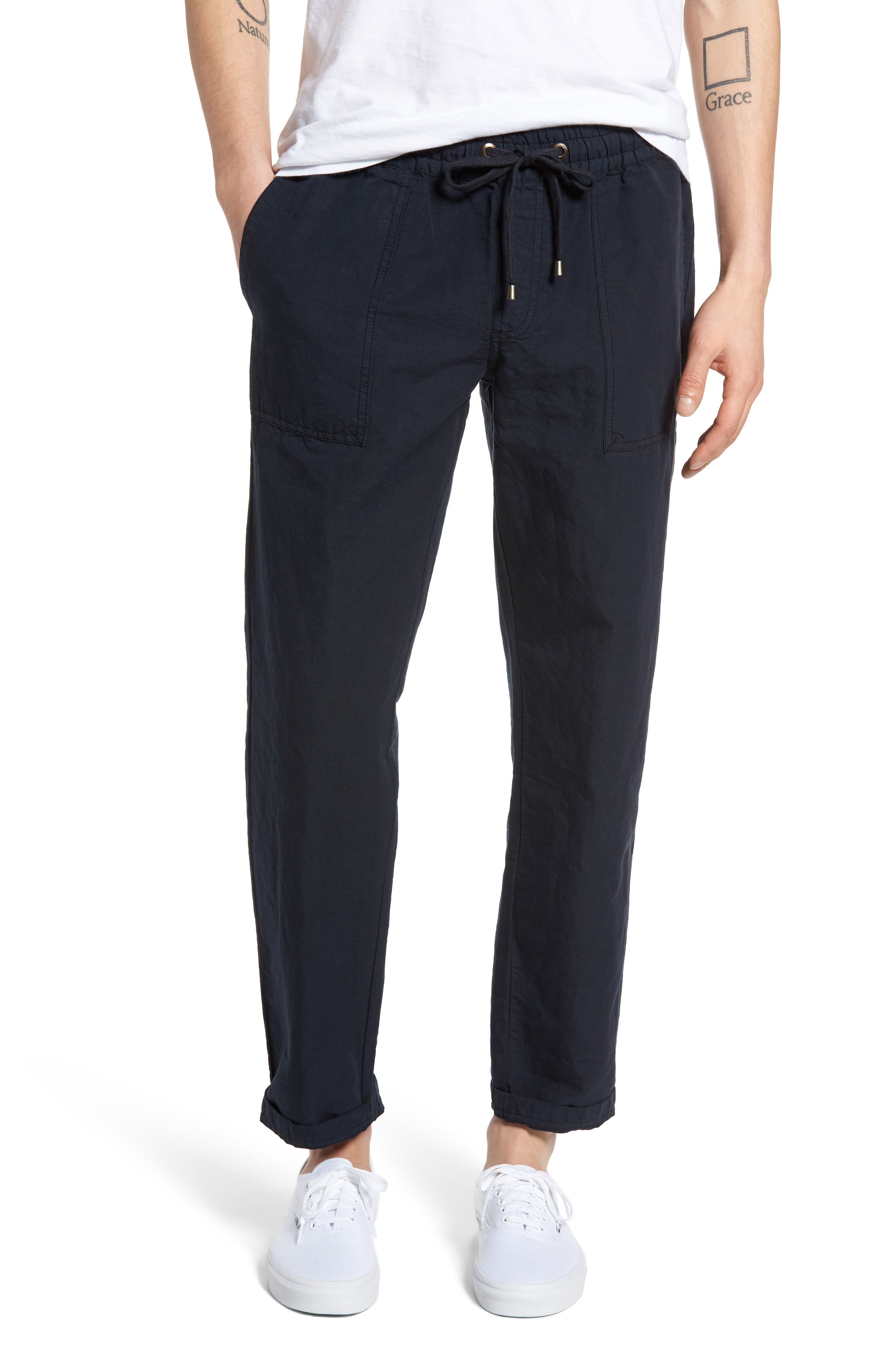 TREASURE & BOND Loose Drawstring Pants