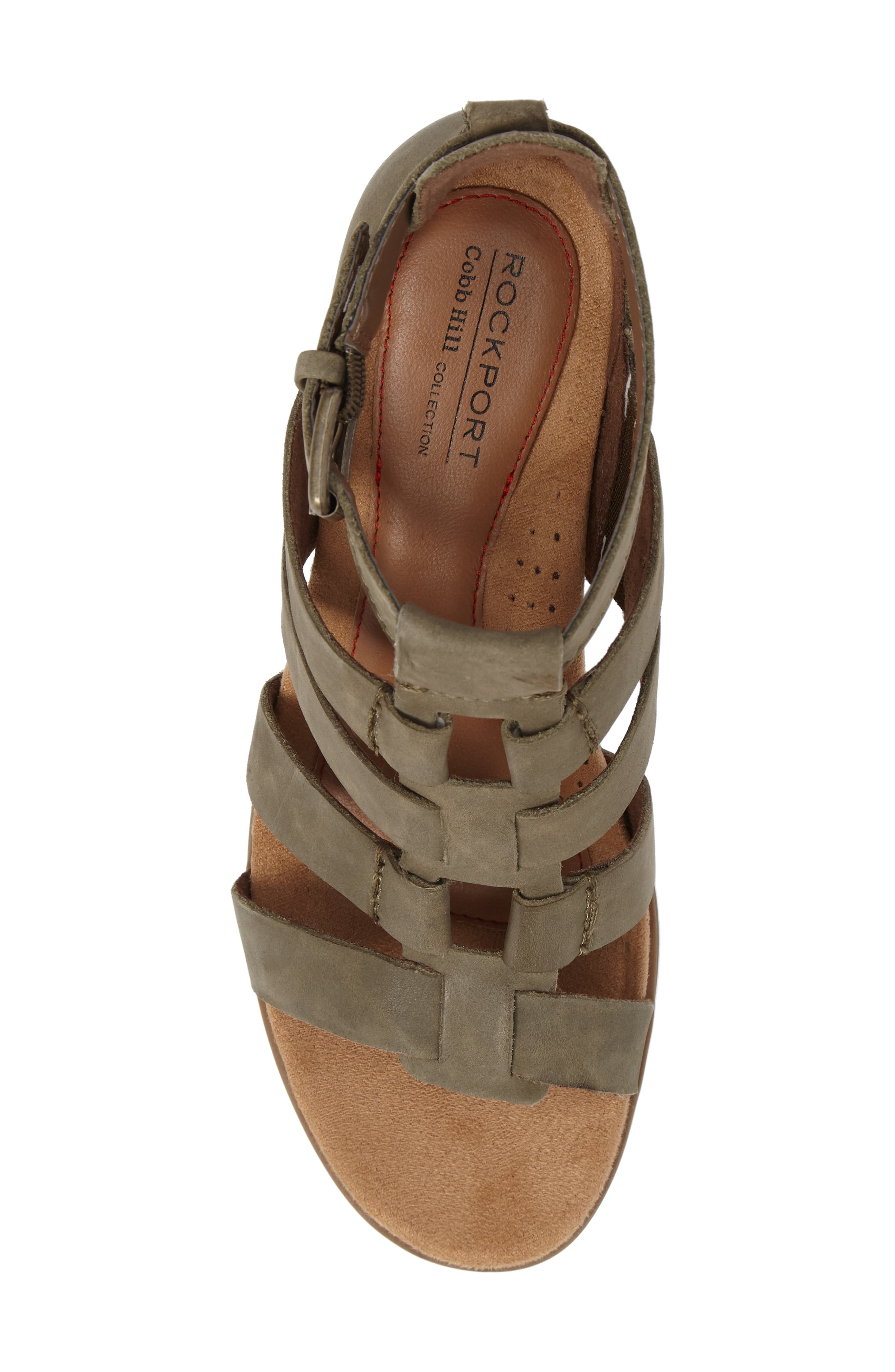 Alternate Image 5  - Rockport Cobb Hill Hattie Block Heel Gladiator Sandal (Women)