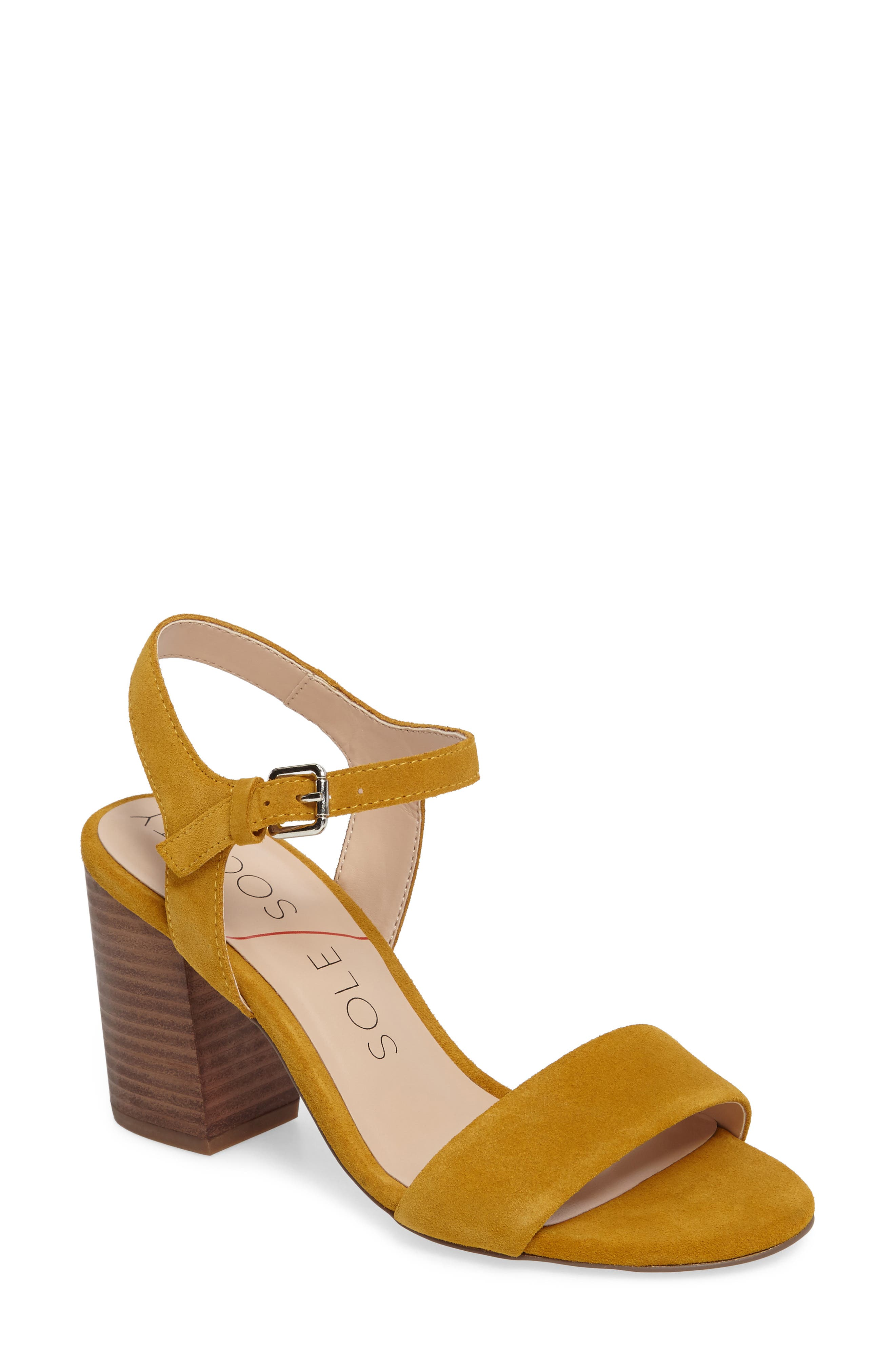 Alternate Image 1 Selected - Sole Society 'Linny' Ankle Strap Sandal (Women)