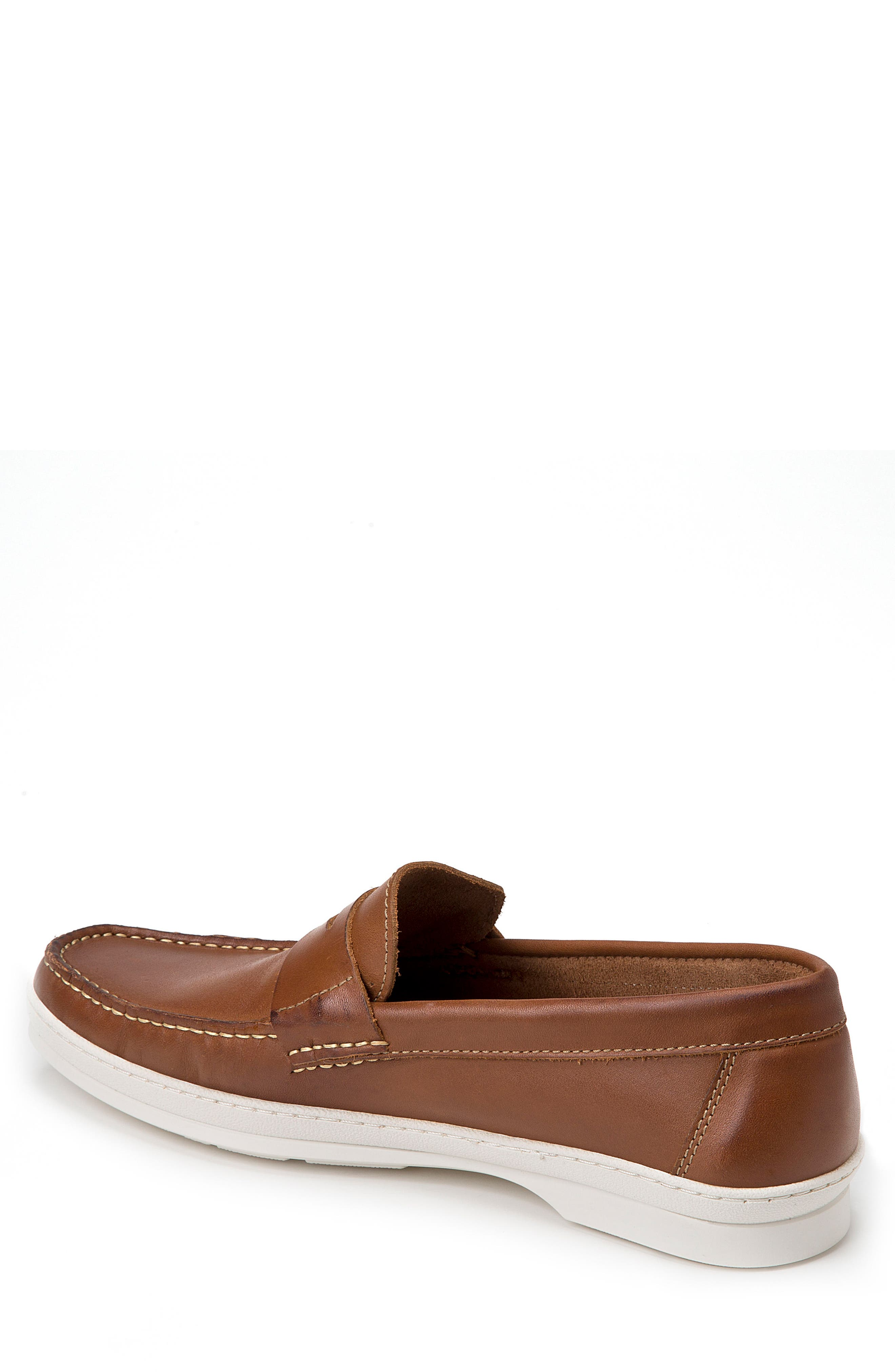 Simon Penny Loafer,                             Alternate thumbnail 2, color,                             Tan Leather