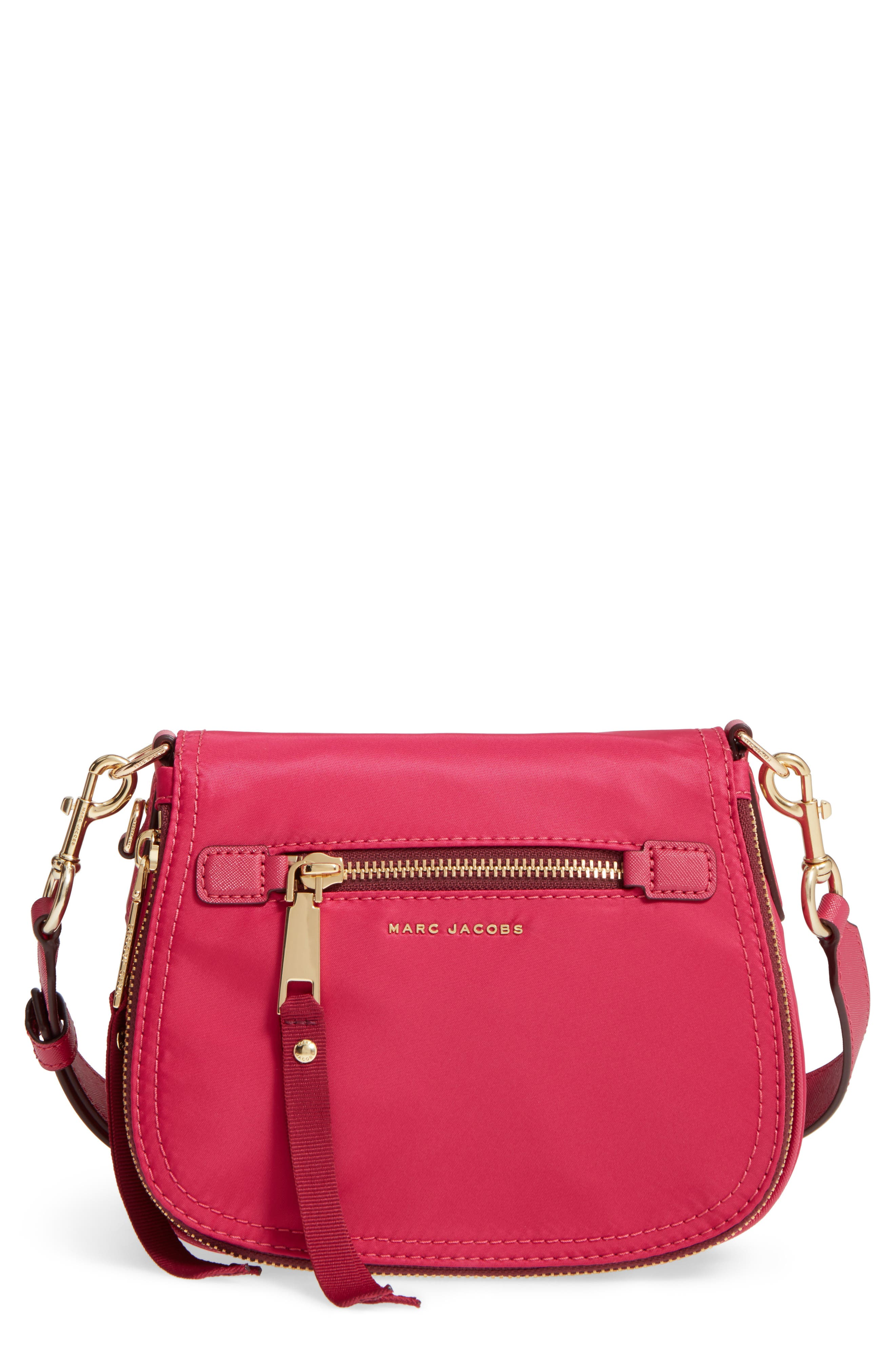 Trooper - Small Nomad Nylon Crossbody Bag,                             Main thumbnail 1, color,                             Hibiscus