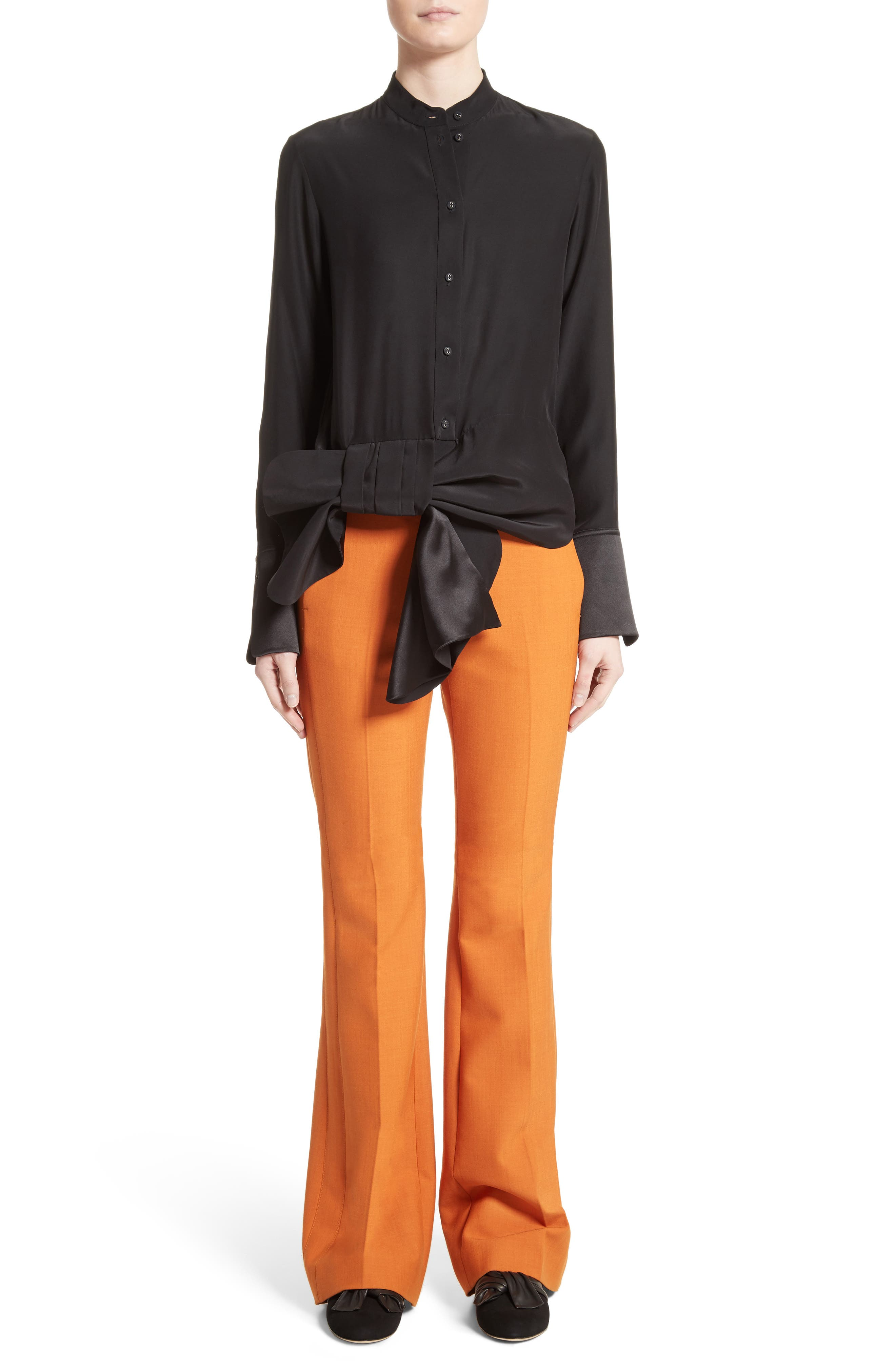 Flare Pants,                             Alternate thumbnail 2, color,                             Maple