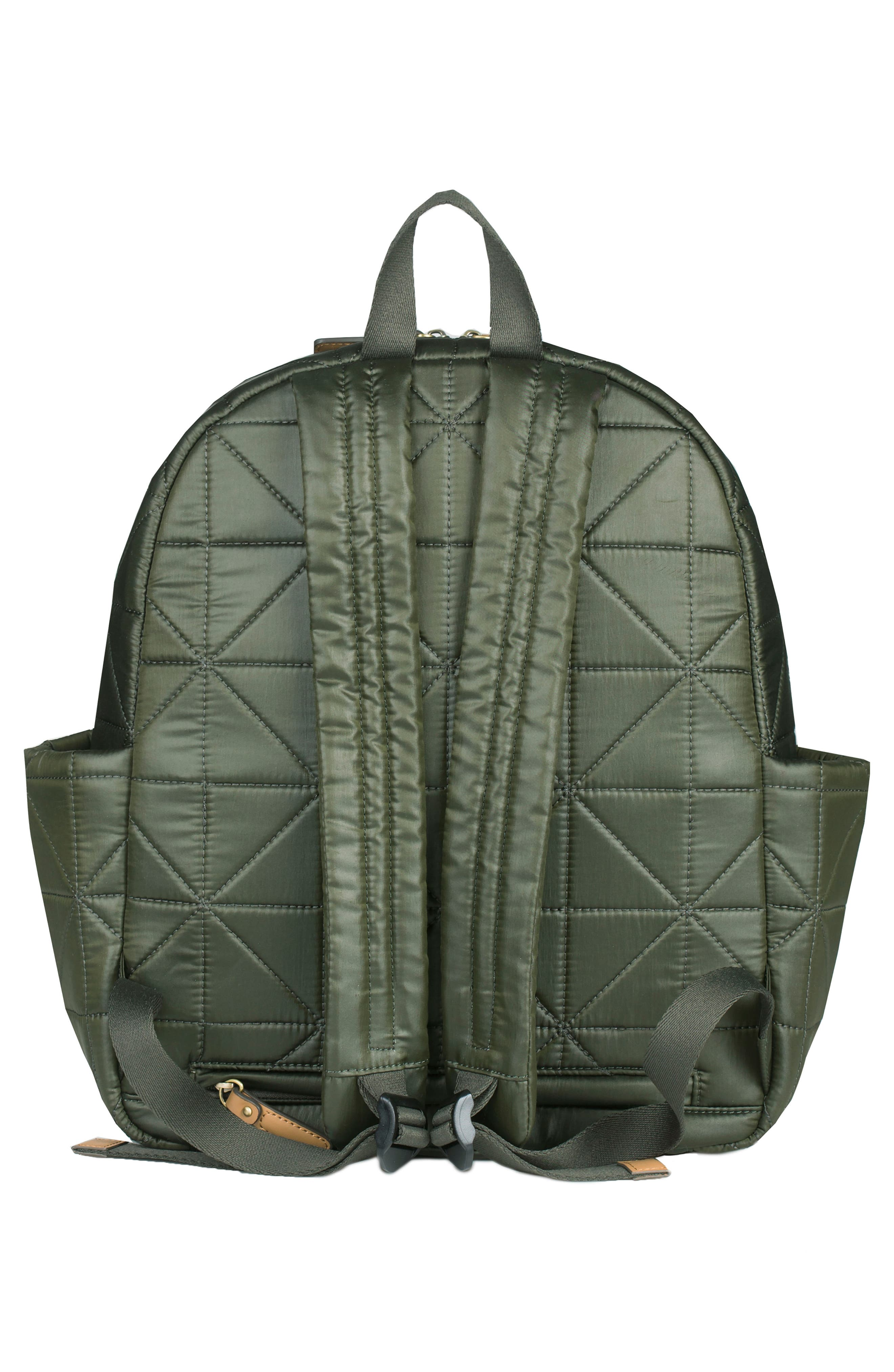 Alternate Image 2  - TWELVElittle 'Companion Backpack' Quilted Nylon Diaper Bag