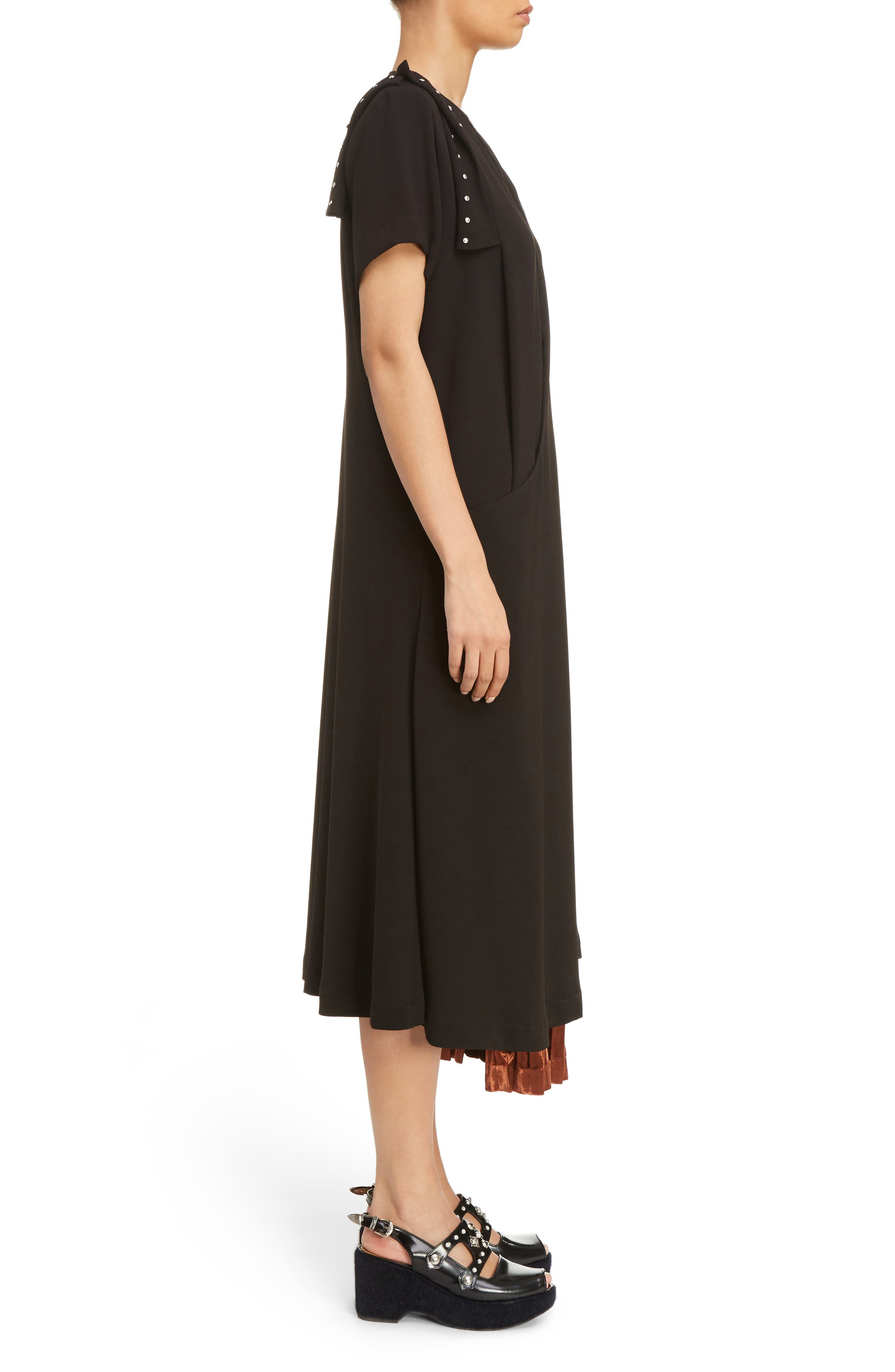 Alternate Image 3  - TOGA Georgette Faux Wrap Dress