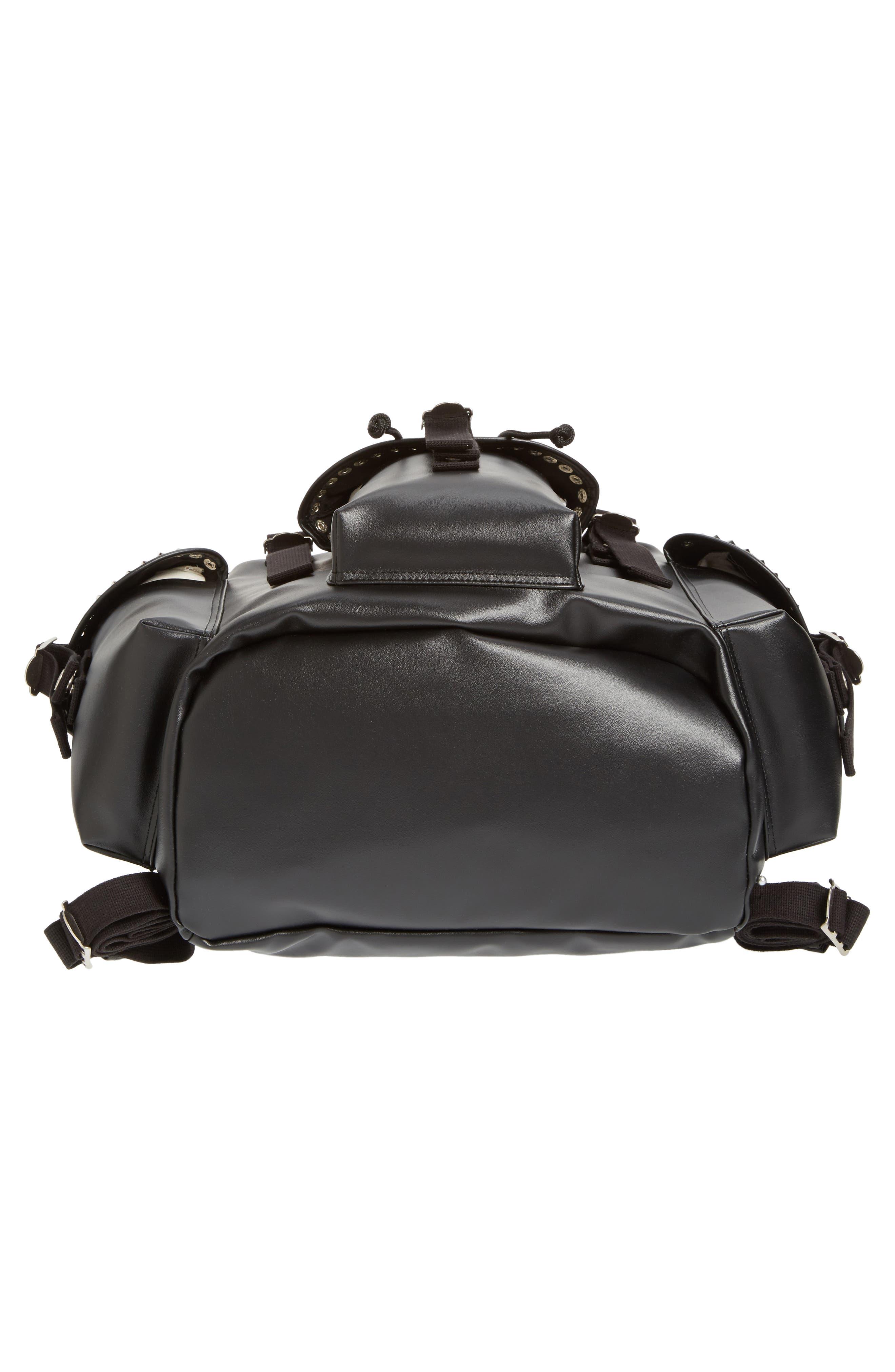 Alternate Image 6  - Junya Watanabe Studded Faux Leather Backpack