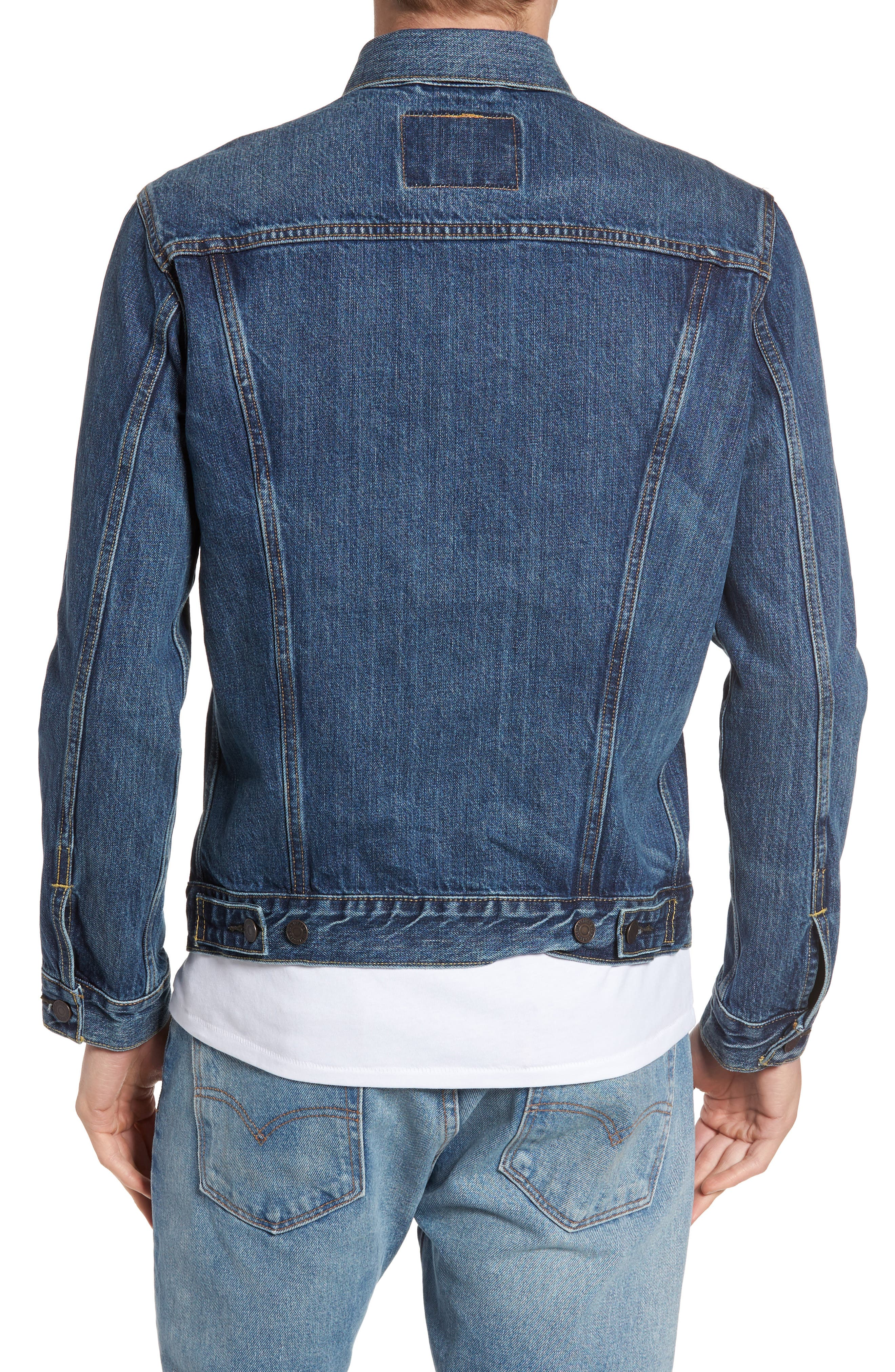 Alternate Image 2  - Levi's® Trucker Denim Jacket