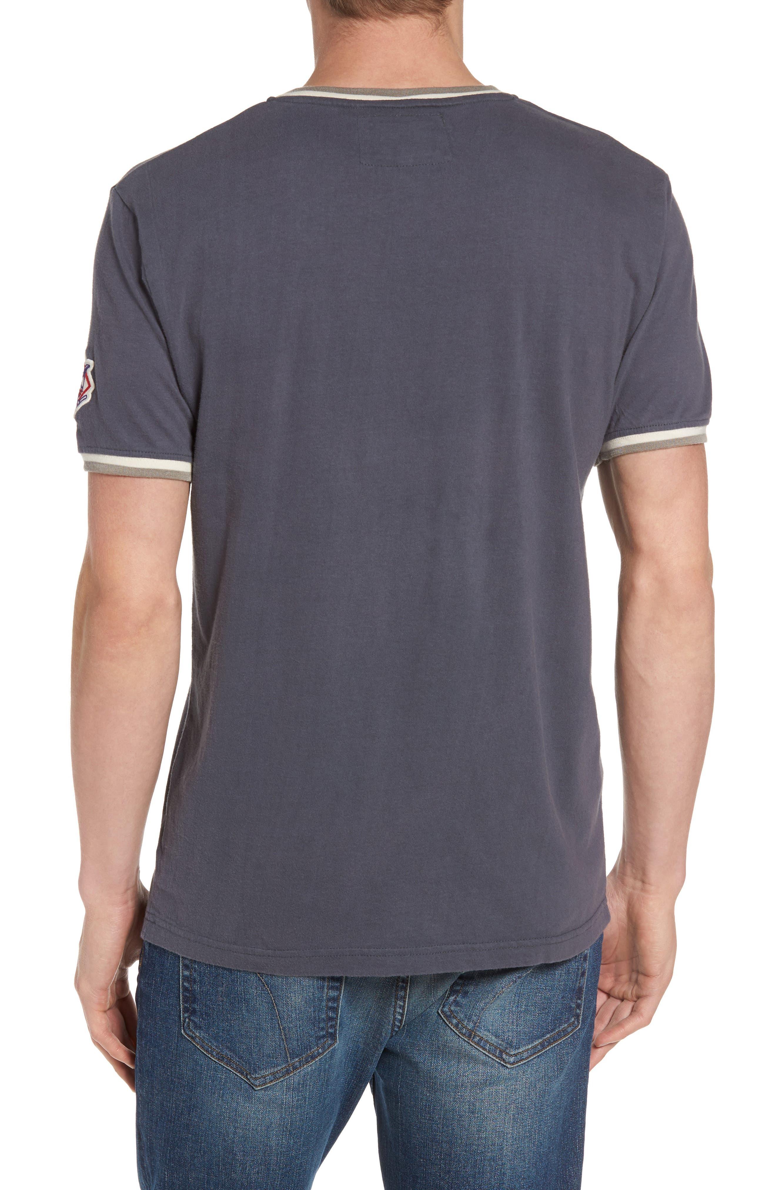 Alternate Image 2  - American Needle Eastwood - Chicago Cubs V-Neck T-Shirt