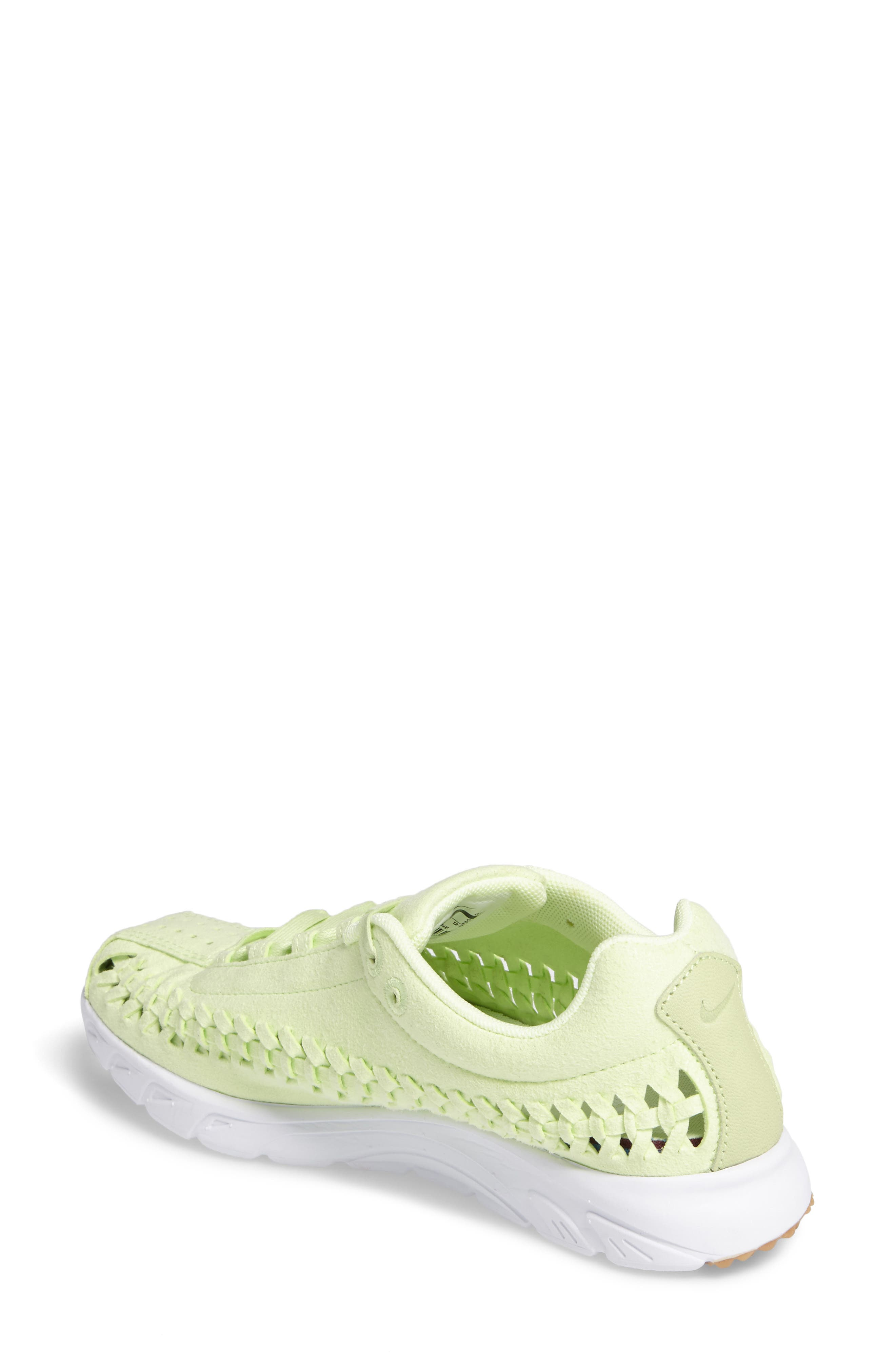 Mayfly Woven QS Sneaker,                             Alternate thumbnail 2, color,                             Liquid Lime/ Liquid Lime