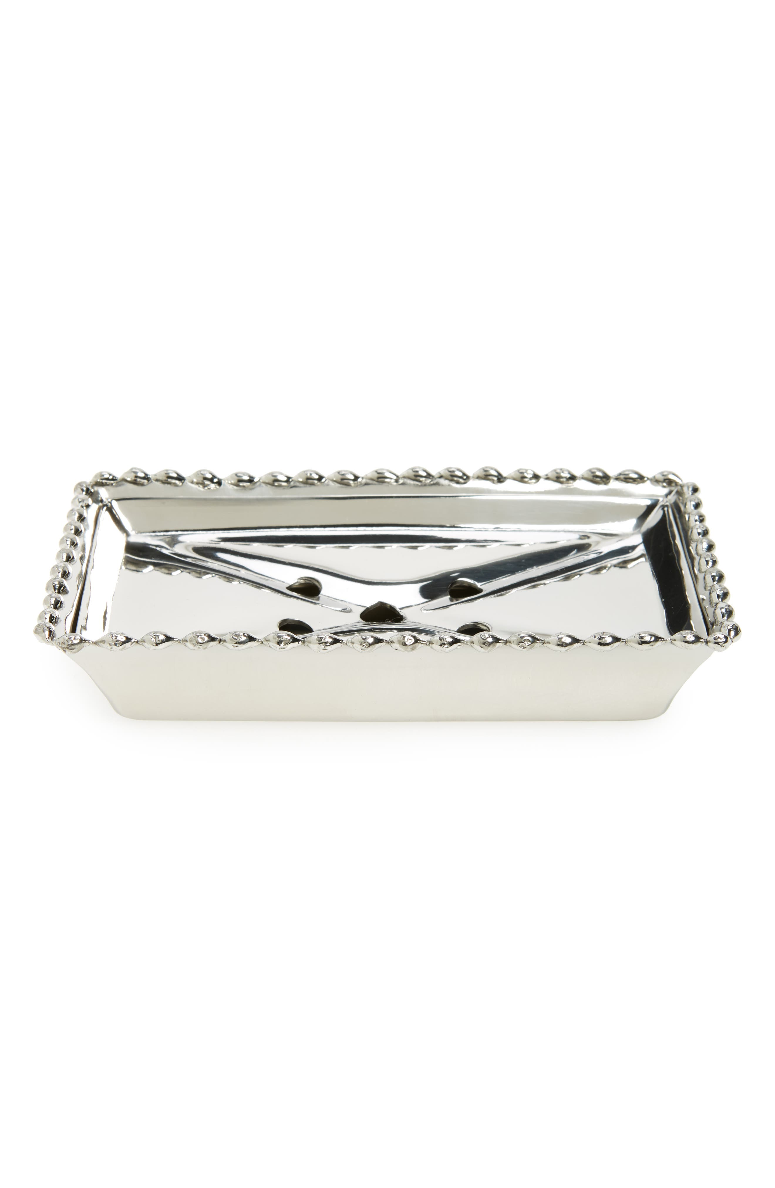 Michael Aram Molten Stainless Steel Soap Dish