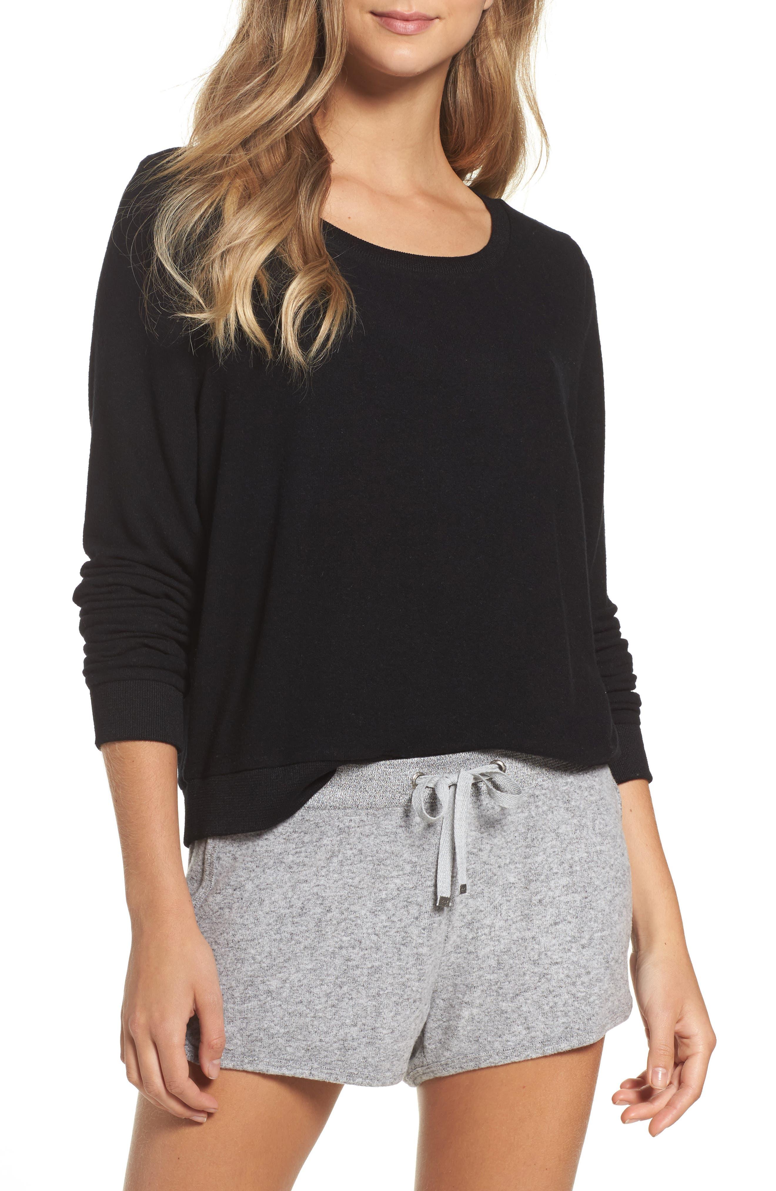 Main Image - Make + Model Brushed Hacci Sweatshirt