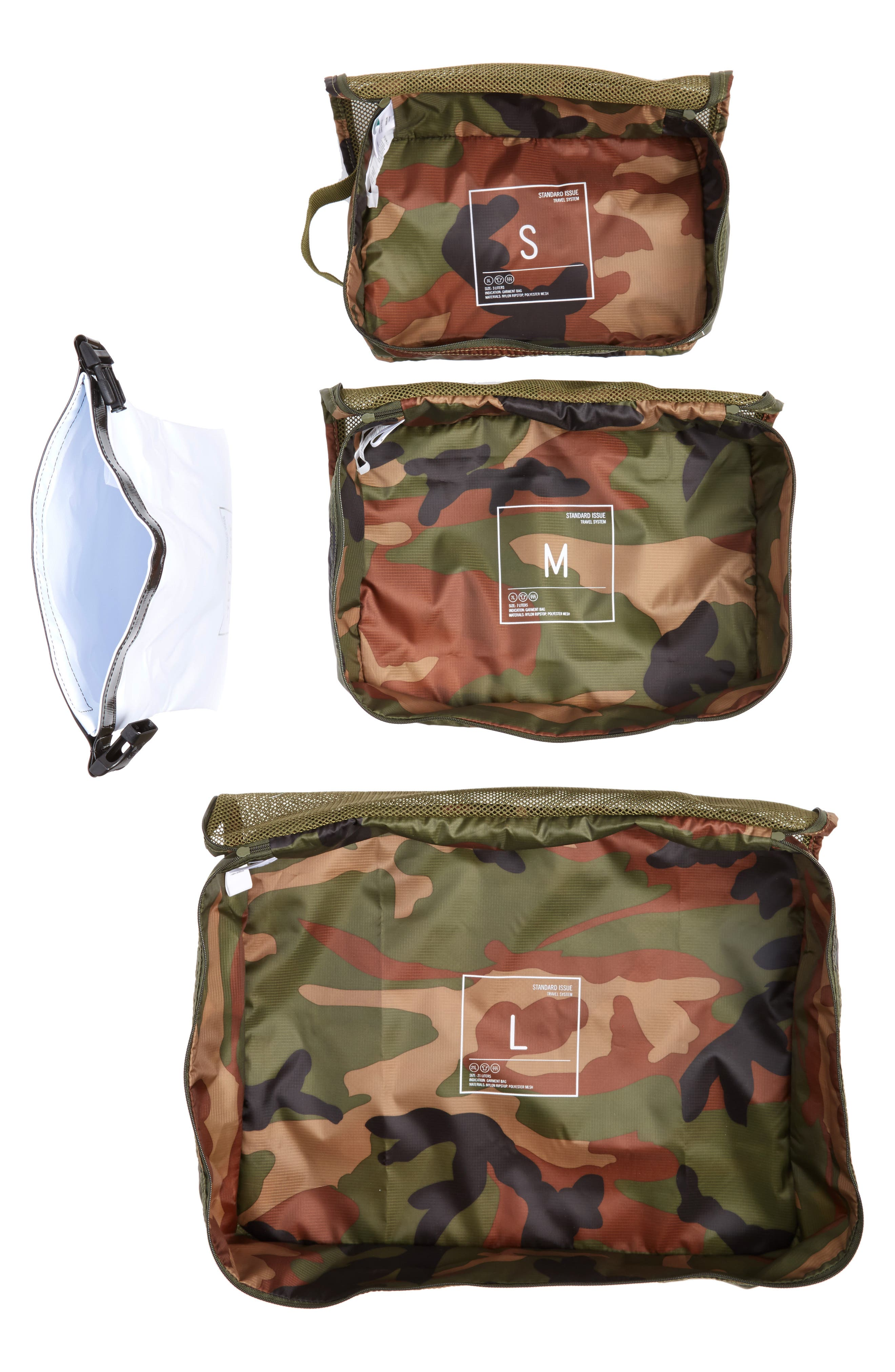 Standard Issue Travel System,                             Alternate thumbnail 6, color,                             Woodland Camo