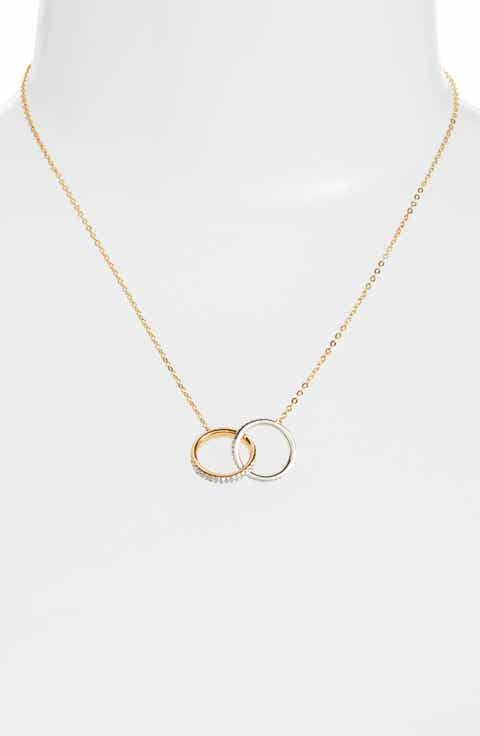 Necklaces nadri jewelry nordstrom nadri trinity double link pendant necklace aloadofball Image collections