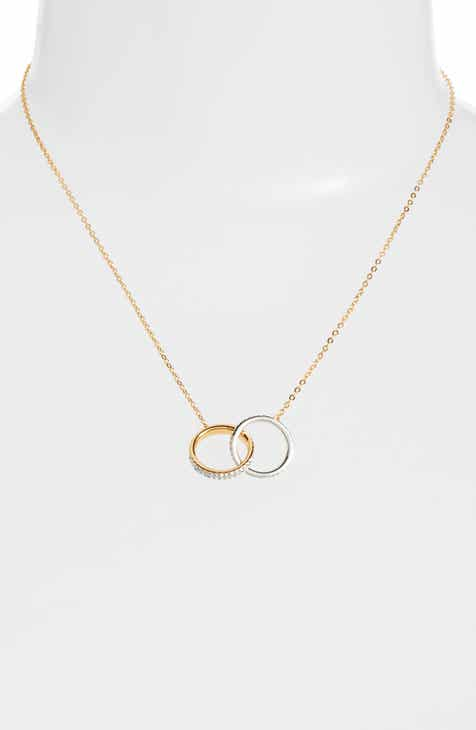 Necklaces nadri jewelry nordstrom nadri trinity double link pendant necklace aloadofball Choice Image