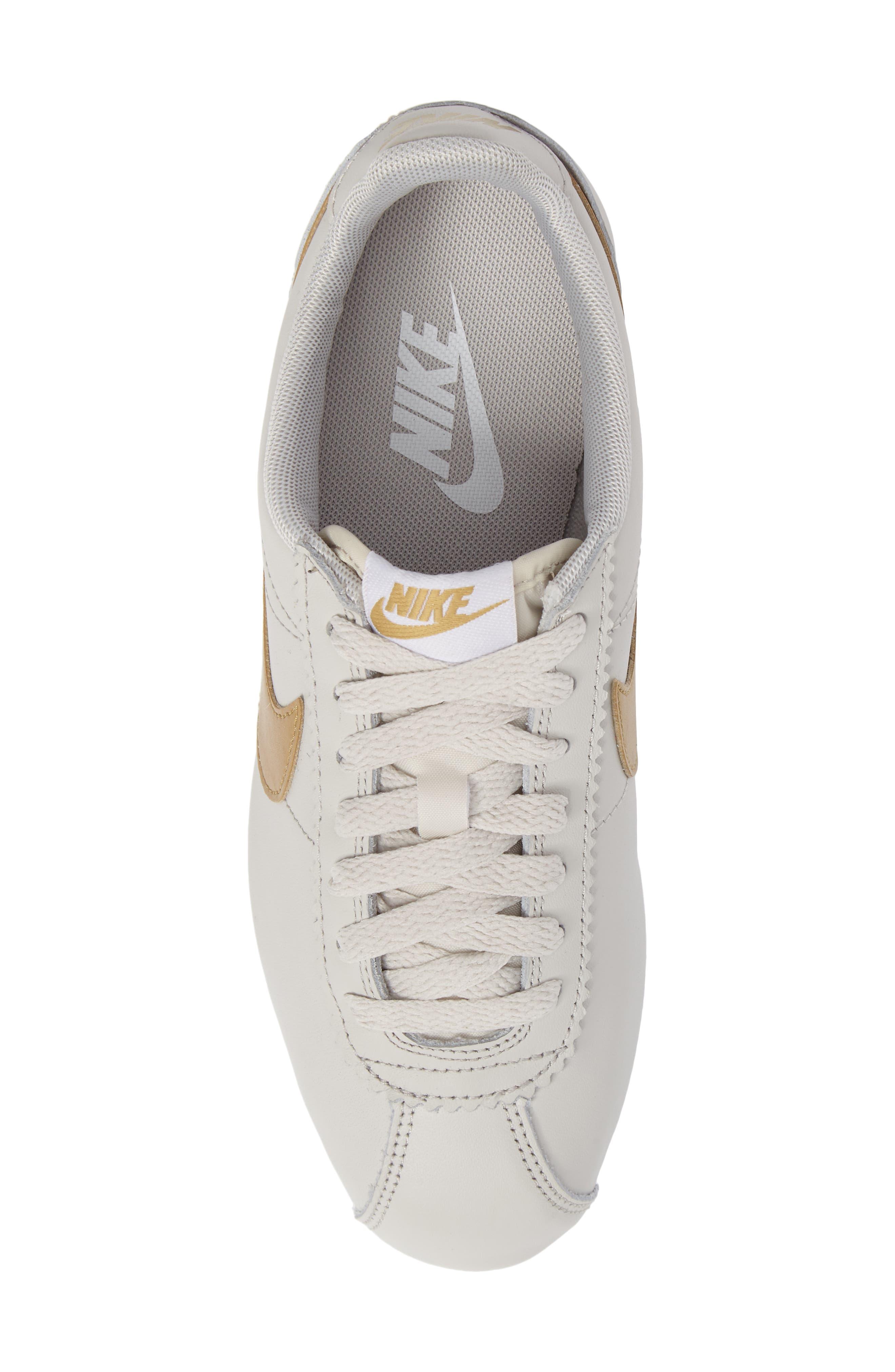 'Classic Cortez' Sneaker,                             Alternate thumbnail 6, color,                             Bone
