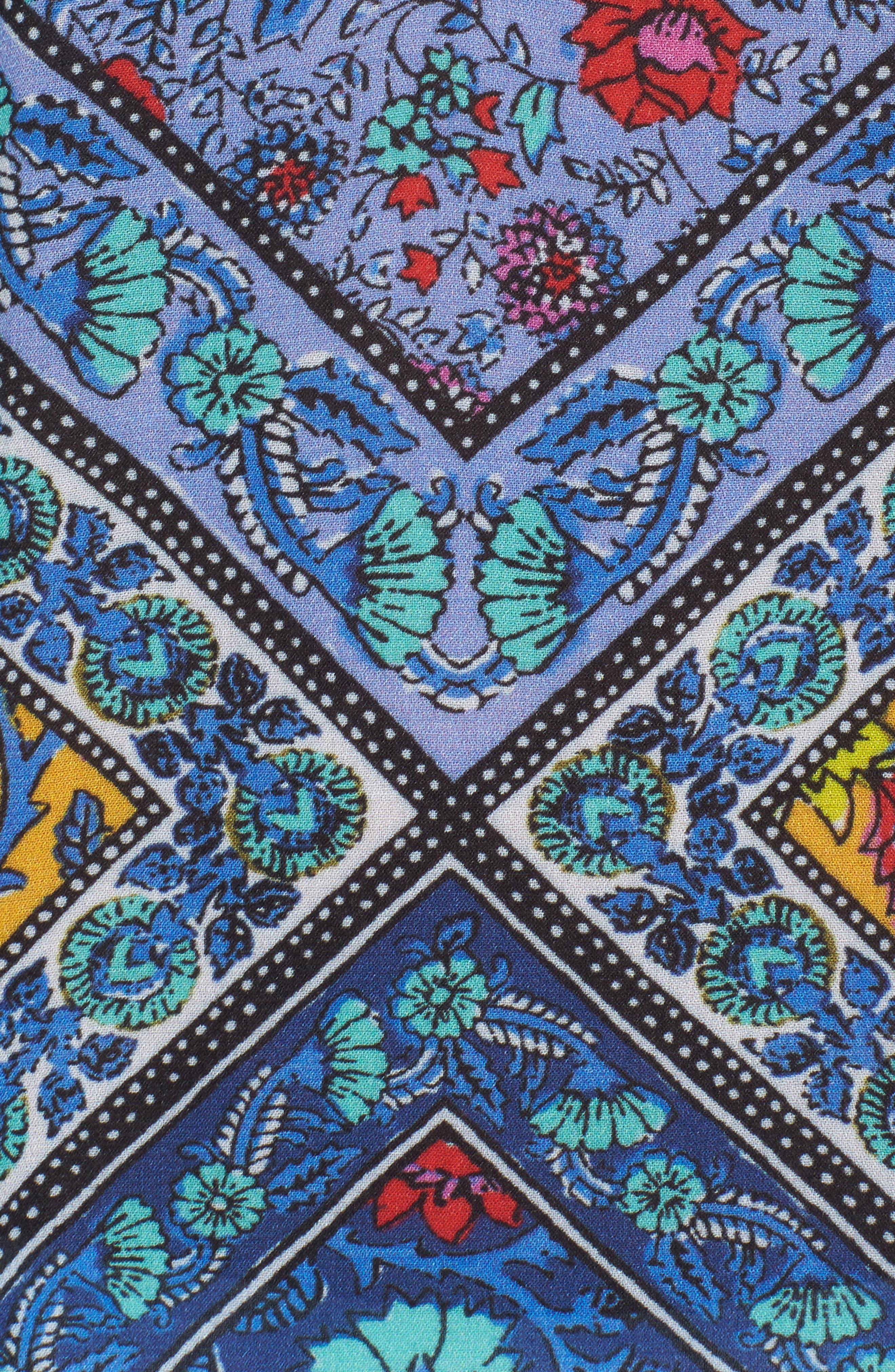 Alternate Image 5  - Nanette Lepore Woodstock Cold Shoulder Cover-Up Tunic