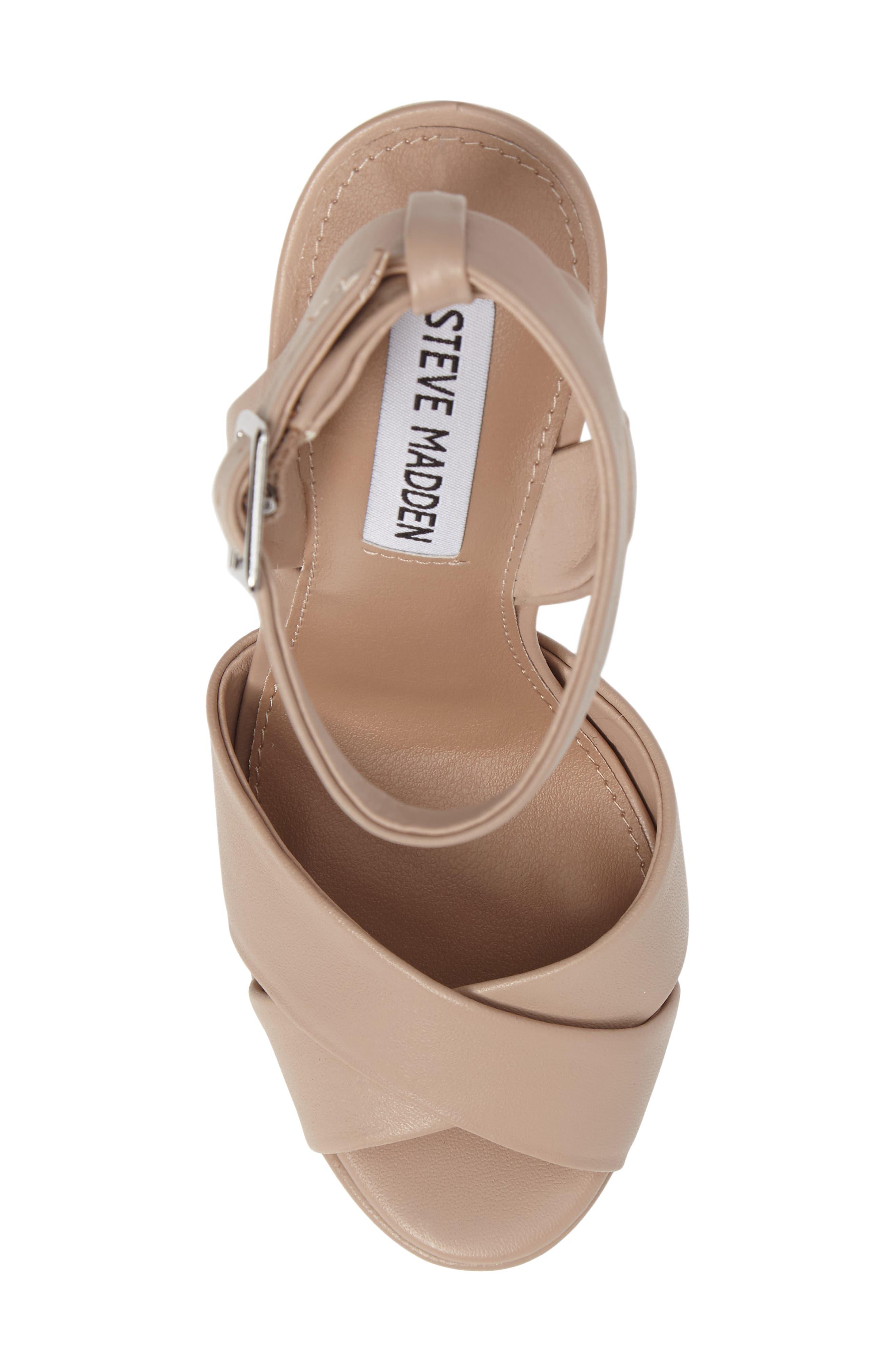Alternate Image 5  - Steve Madden Andrea Cross Strap Platform Sandal (Women)
