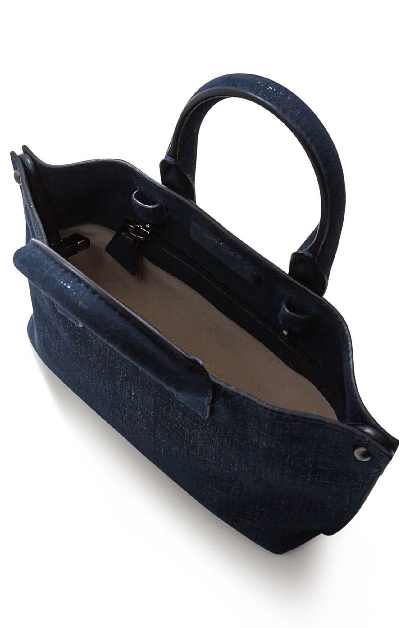 Alternate Image 3  - Akris Tasche Micro Leather Crossbody Bag