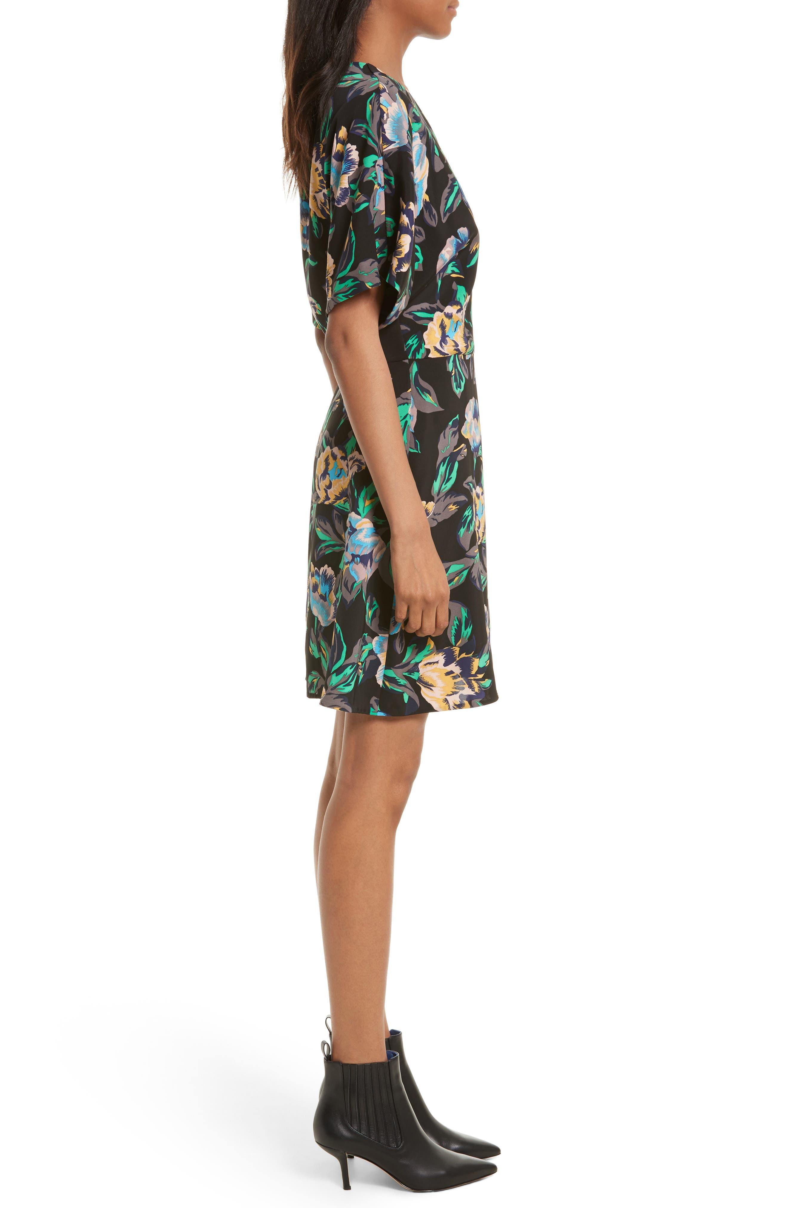 Alternate Image 3  - Diane von Furstenberg Floral Faux Wrap Dress