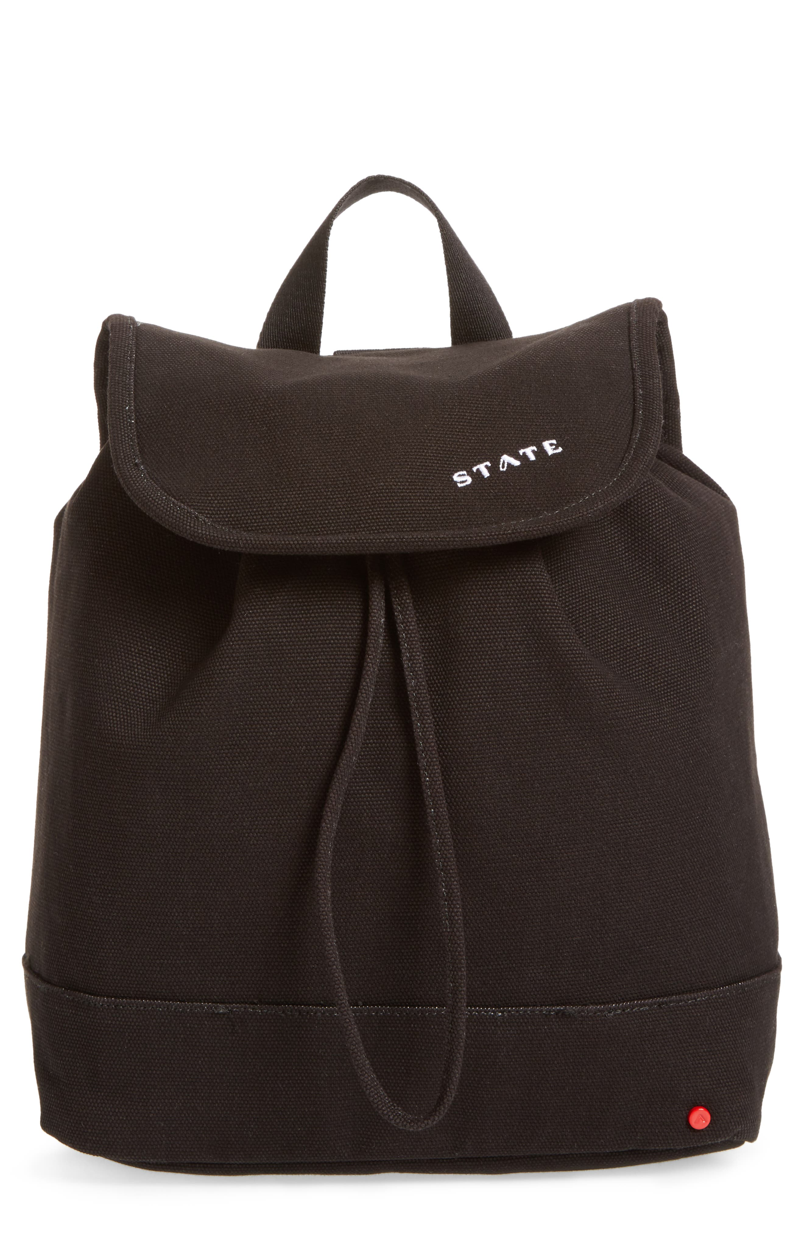 Alternate Image 1 Selected - STATE Bags Park Slope Hattie Canvas Backpack