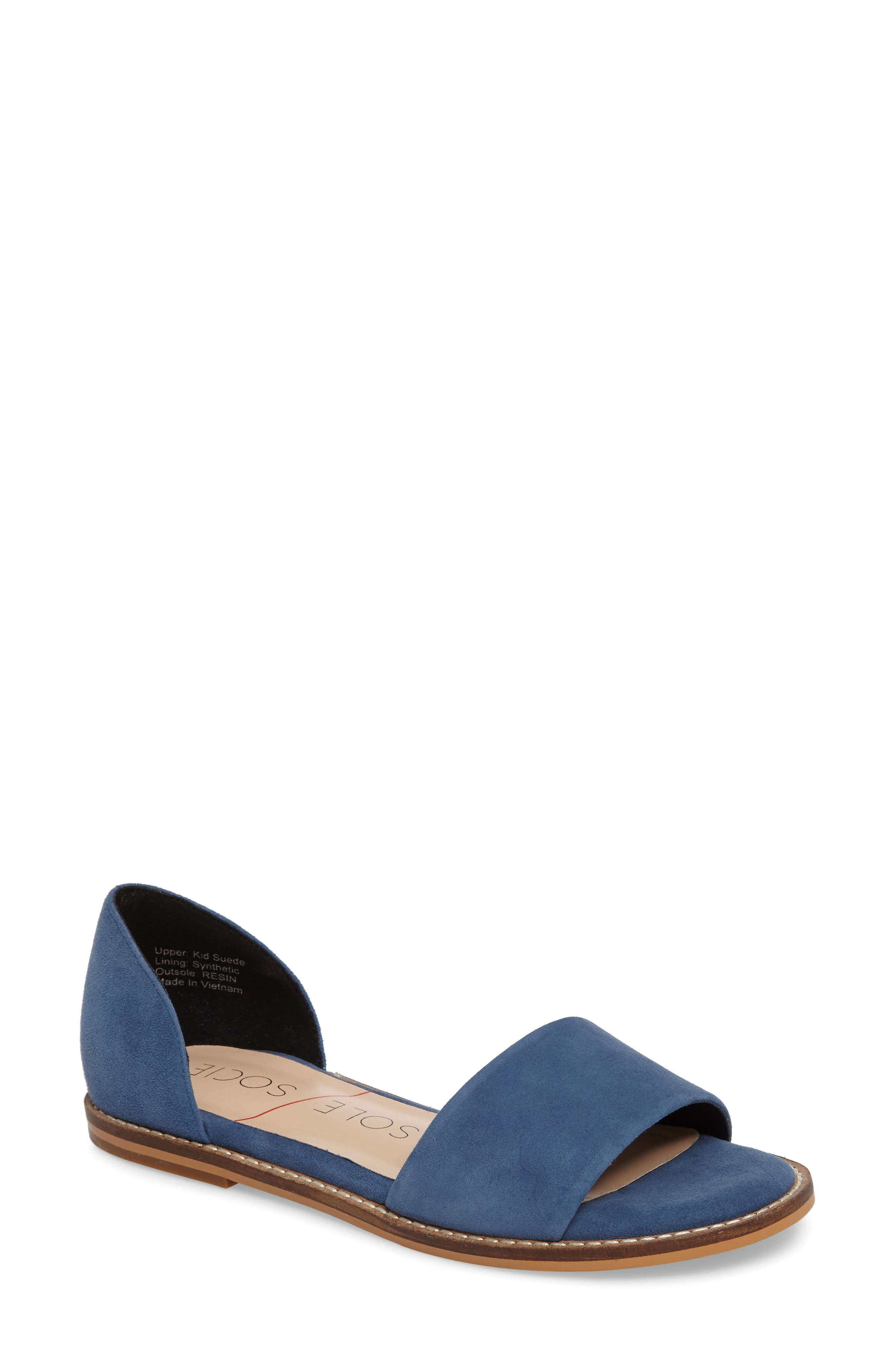 Sole Society 'Harlow' Flat d'Orsay Sandal (Women)