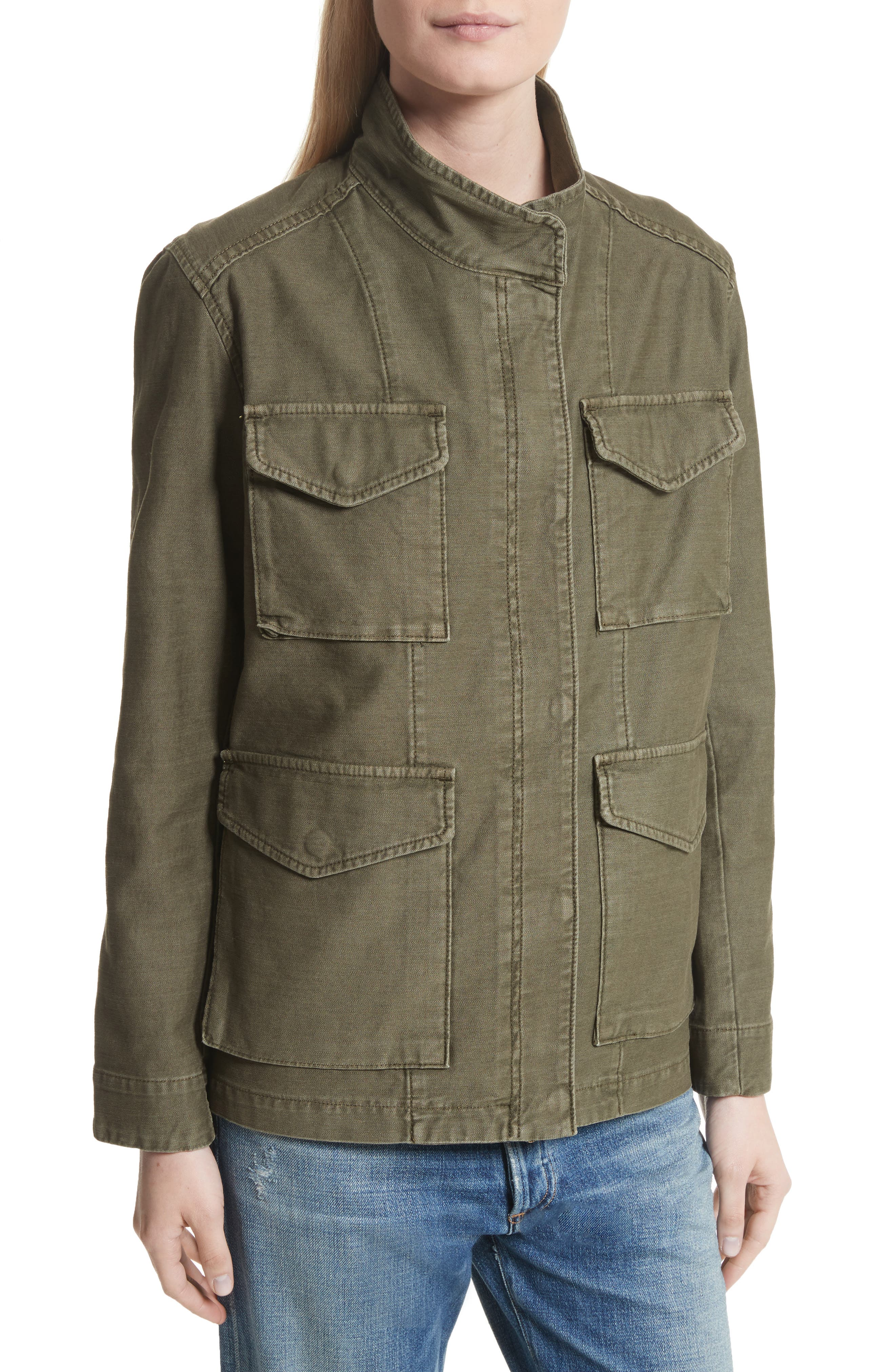 Alternate Image 4  - Vince Military Jacket