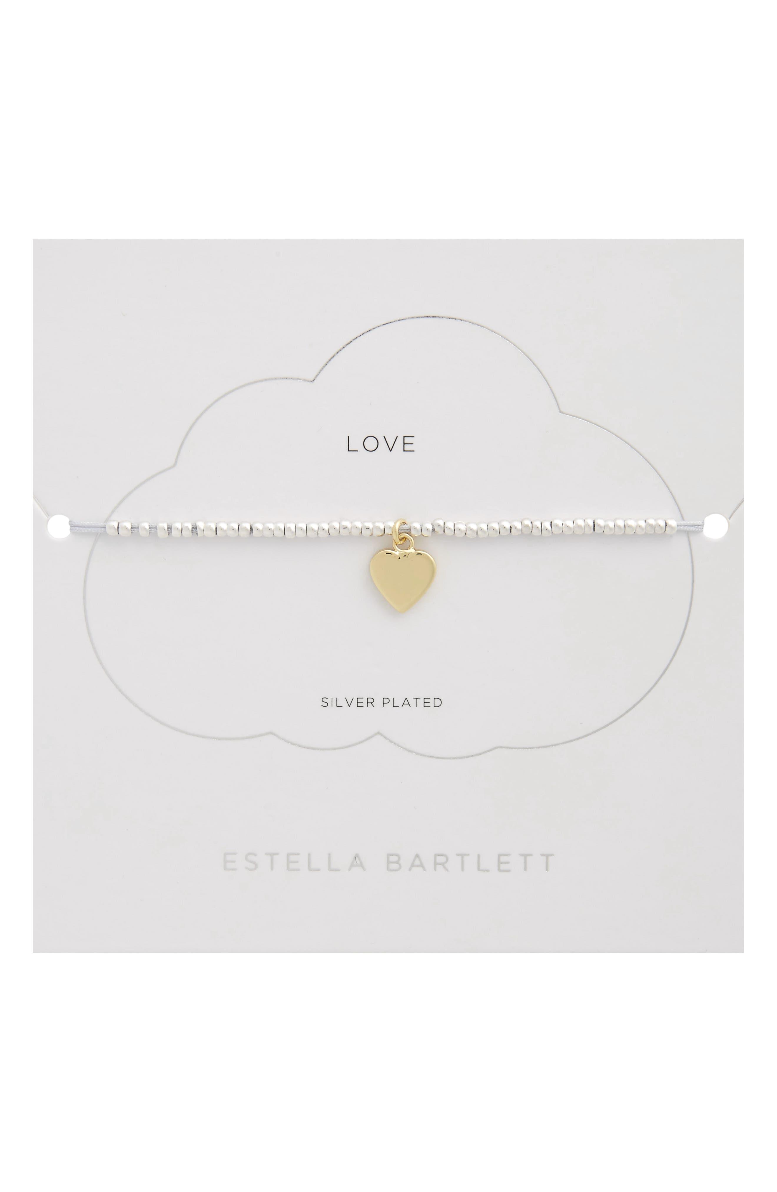 ESTELLA BARTLETT Love Charm Bracelet