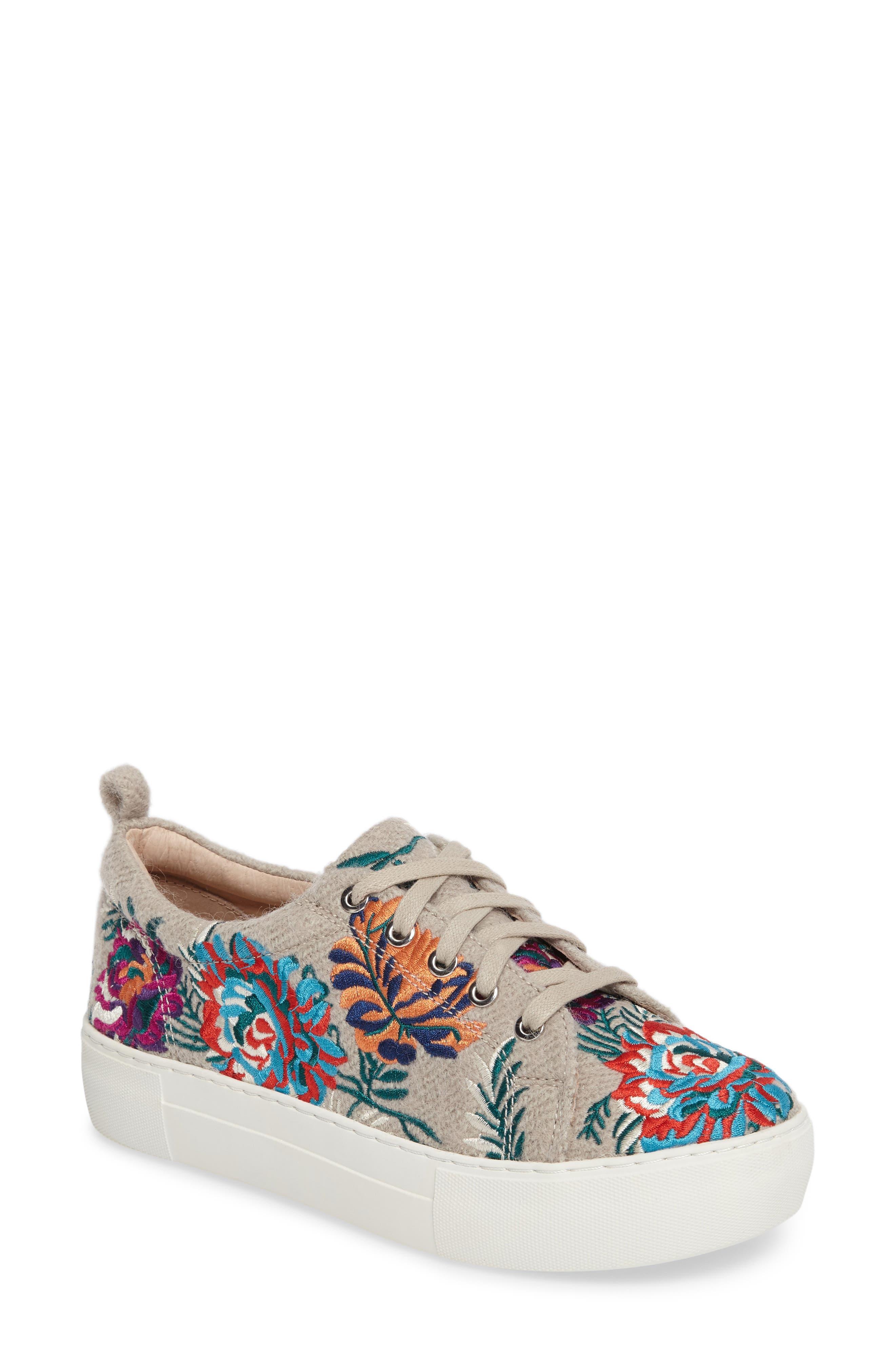 JSlides Aprie Embroidered Sneaker (Women)