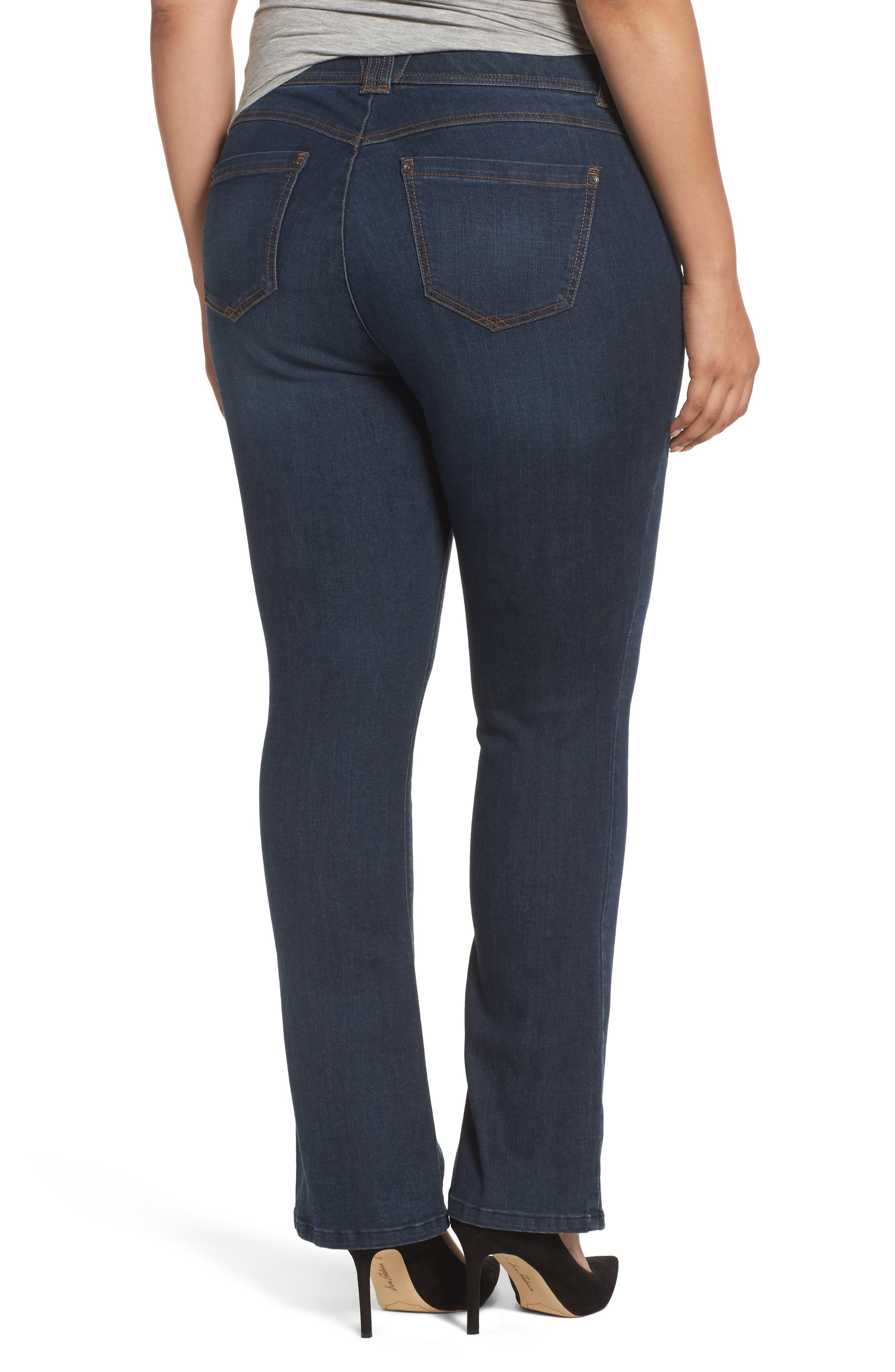 Alternate Image 2  - Wit & Wisdom Ab-solution Itty Bitty Bootcut Jeans (Plus Size) (Nordstrom Exclusive)