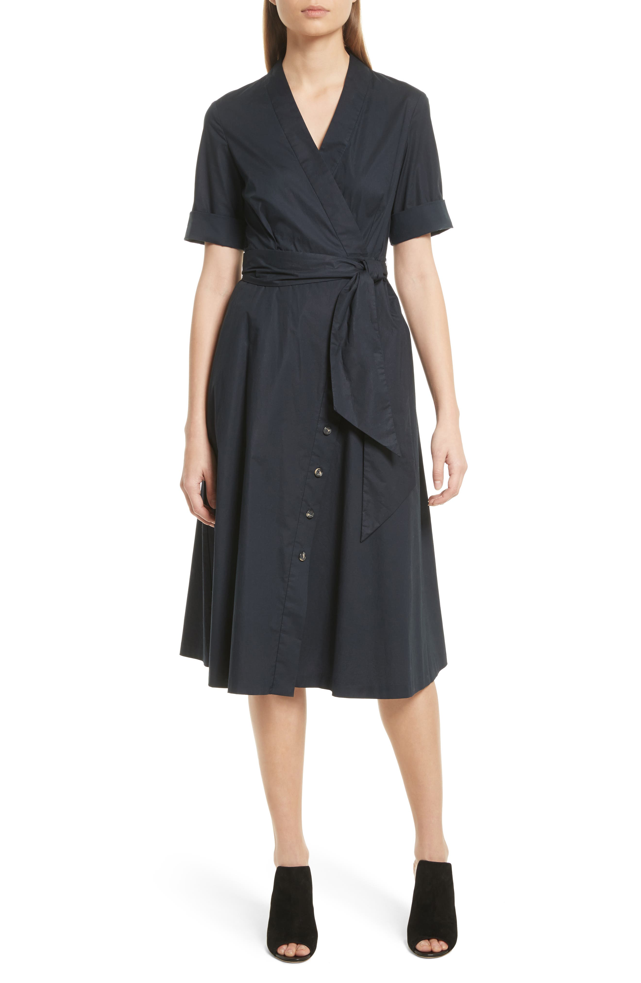 Alternate Image 1 Selected - SALONI Mae B Wrap Shirtdress
