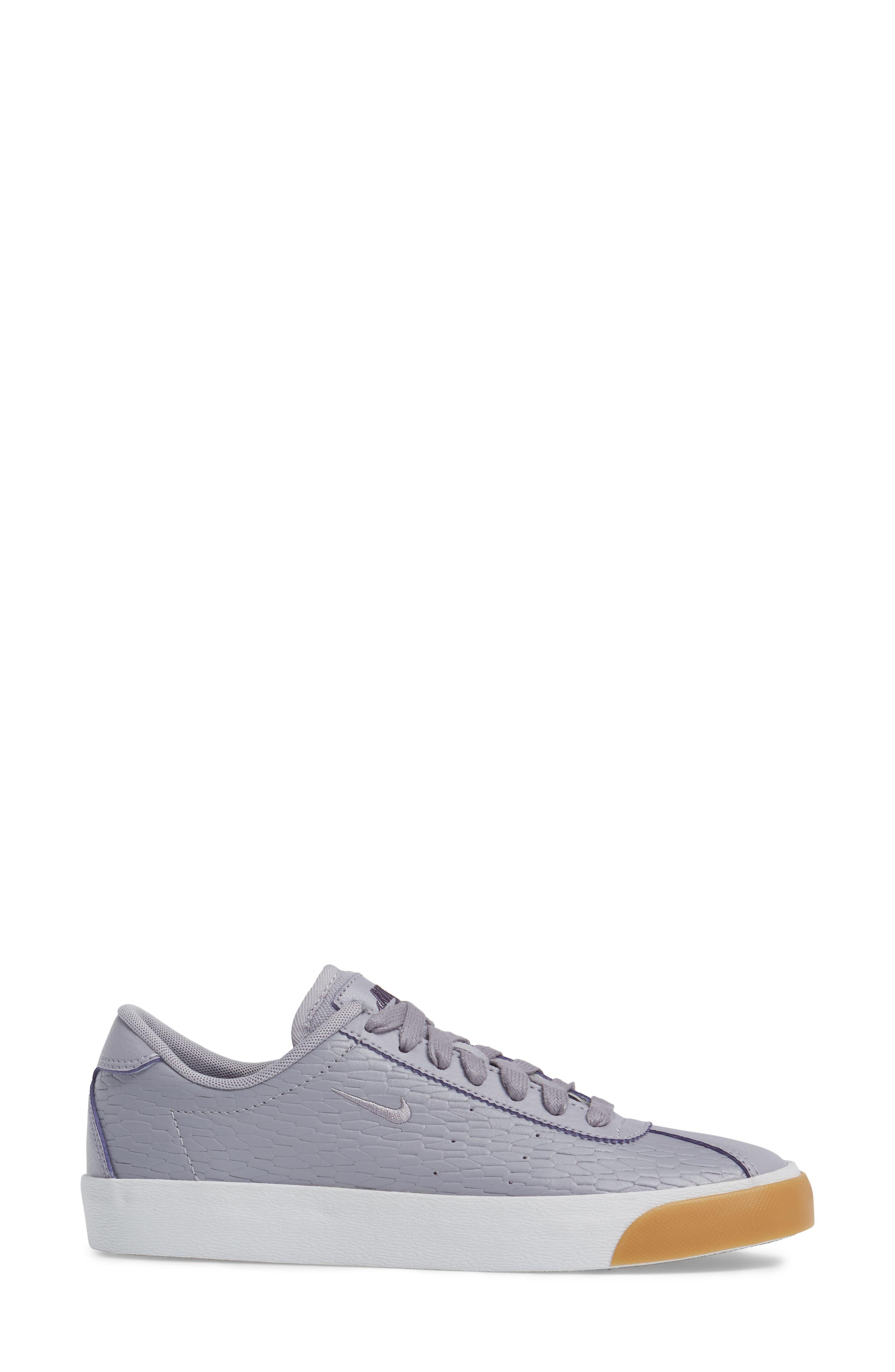 Match Classic Sneaker,                             Alternate thumbnail 3, color,                             Provence Purple/ Purple