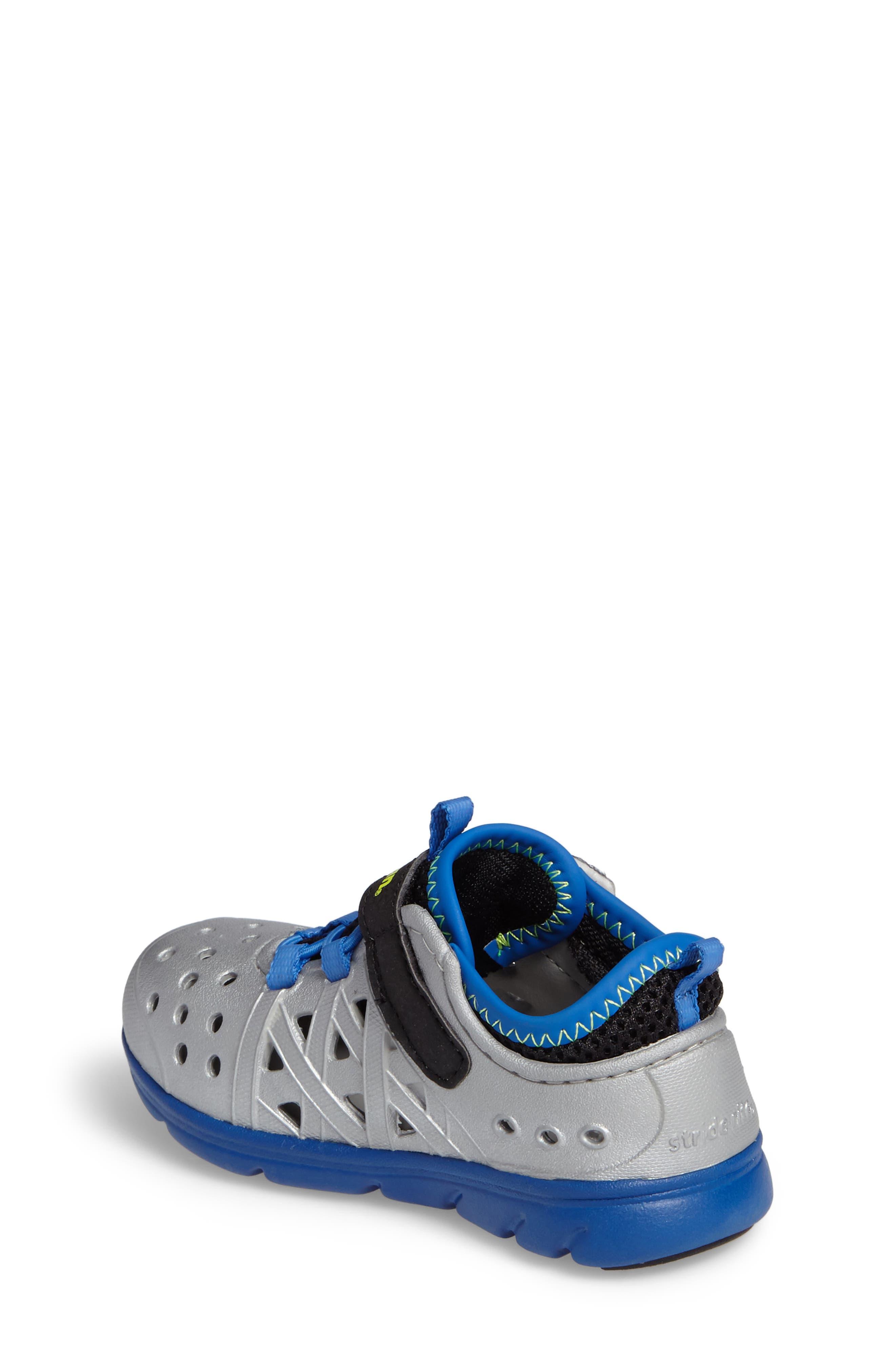Made2Play<sup>®</sup> Phibian Sneaker,                             Alternate thumbnail 2, color,                             Silver Metallic