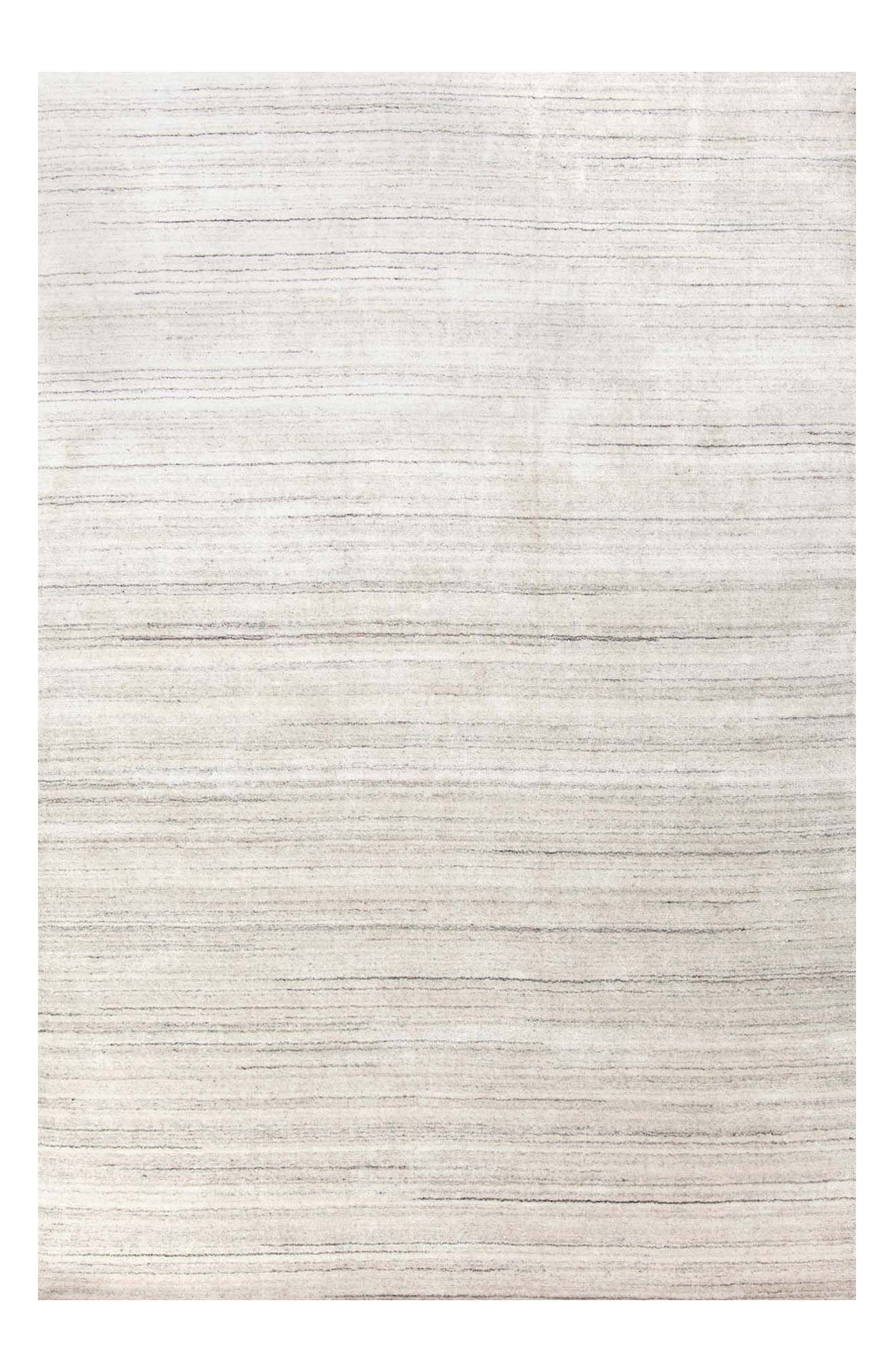 Icelandia Hand Knotted Rug,                         Main,                         color, White