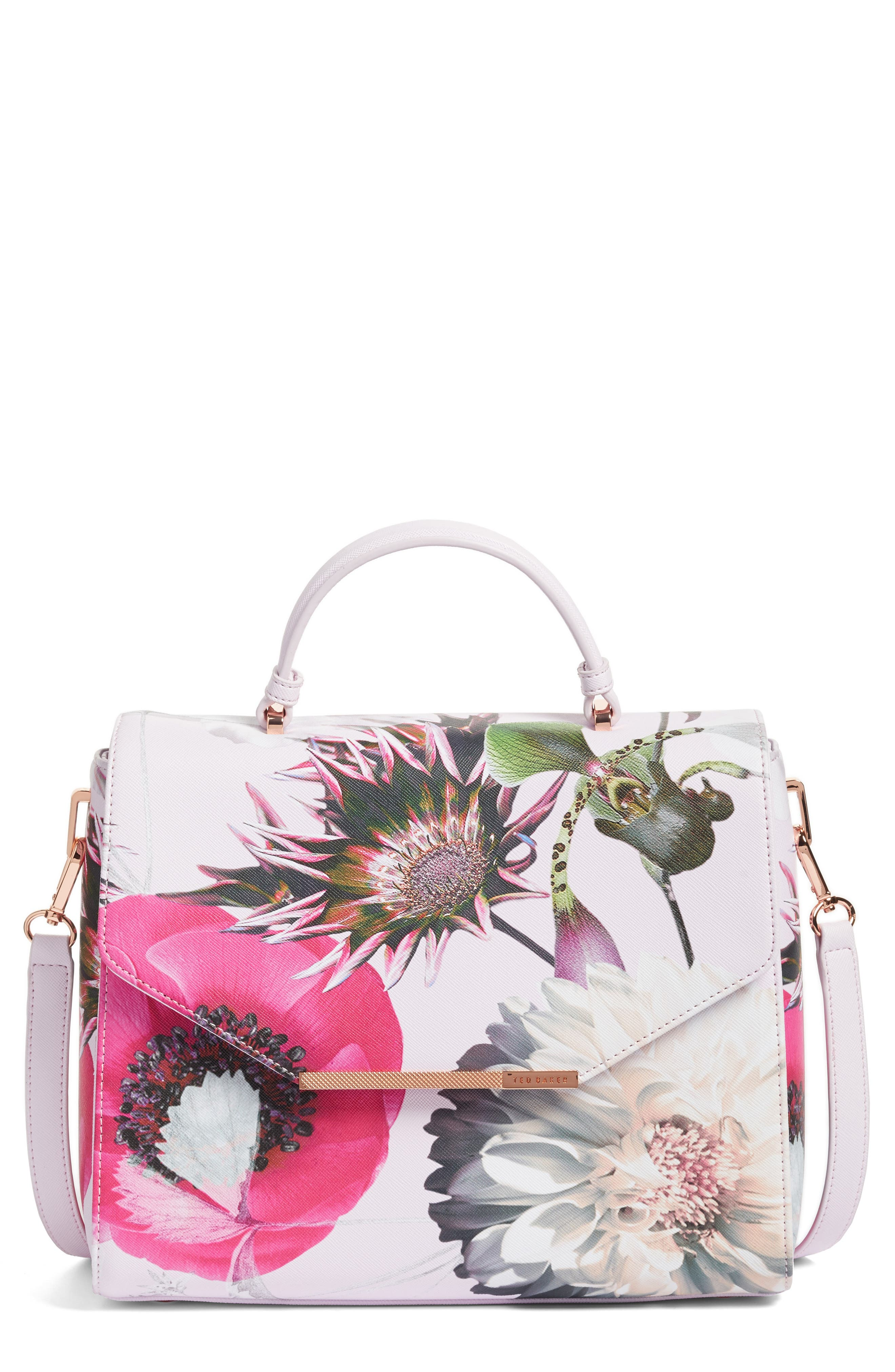 Alternate Image 1 Selected - Ted Baker London Large Paulet Neon Tote (Nordstrom Exclusive)