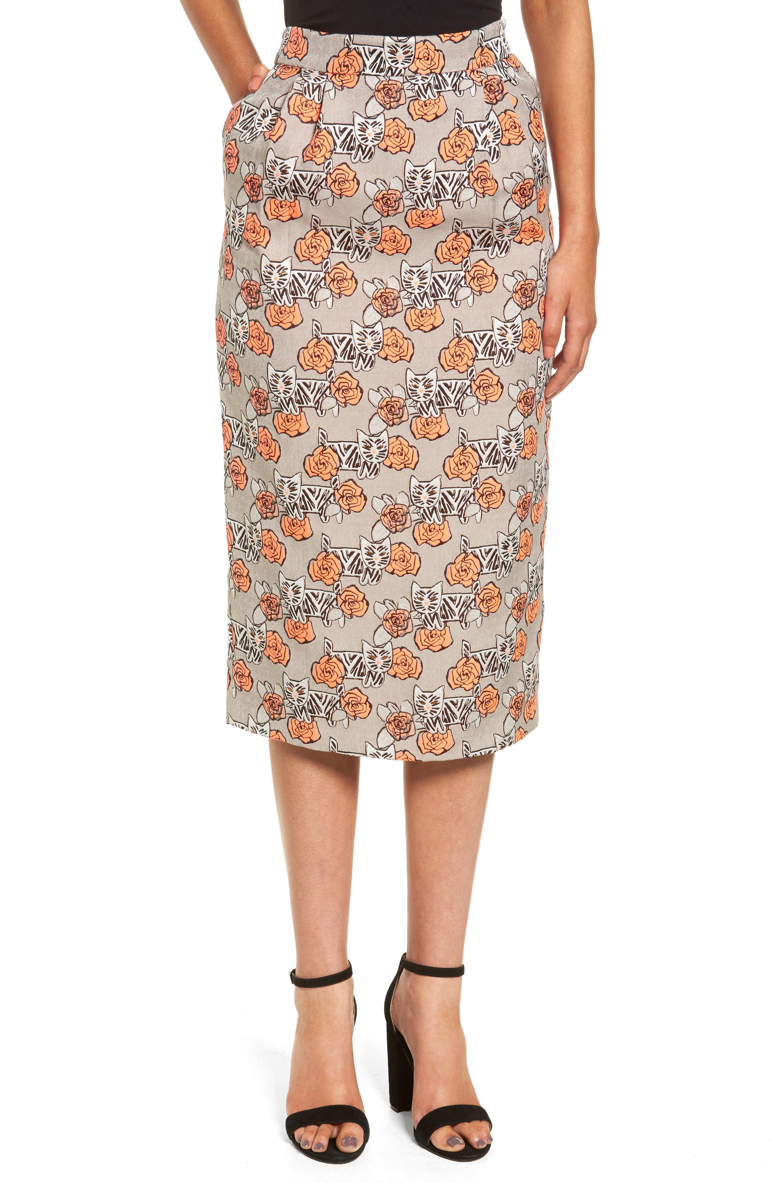 Alternate Image 1 Selected - Paul & Joe Sister Beauty Midi Skirt
