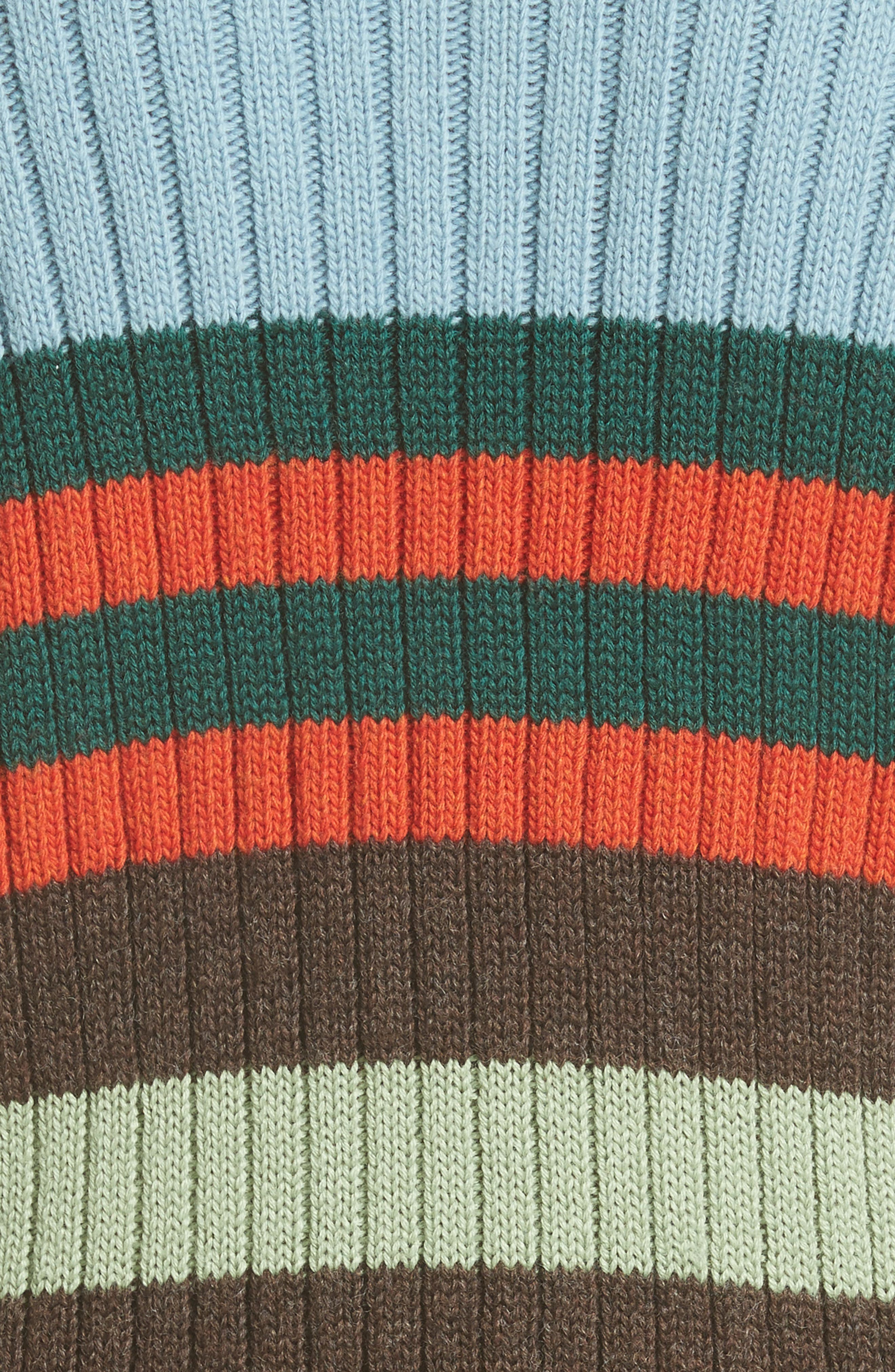 Stripe Wool Sweater,                             Alternate thumbnail 3, color,                             Multi