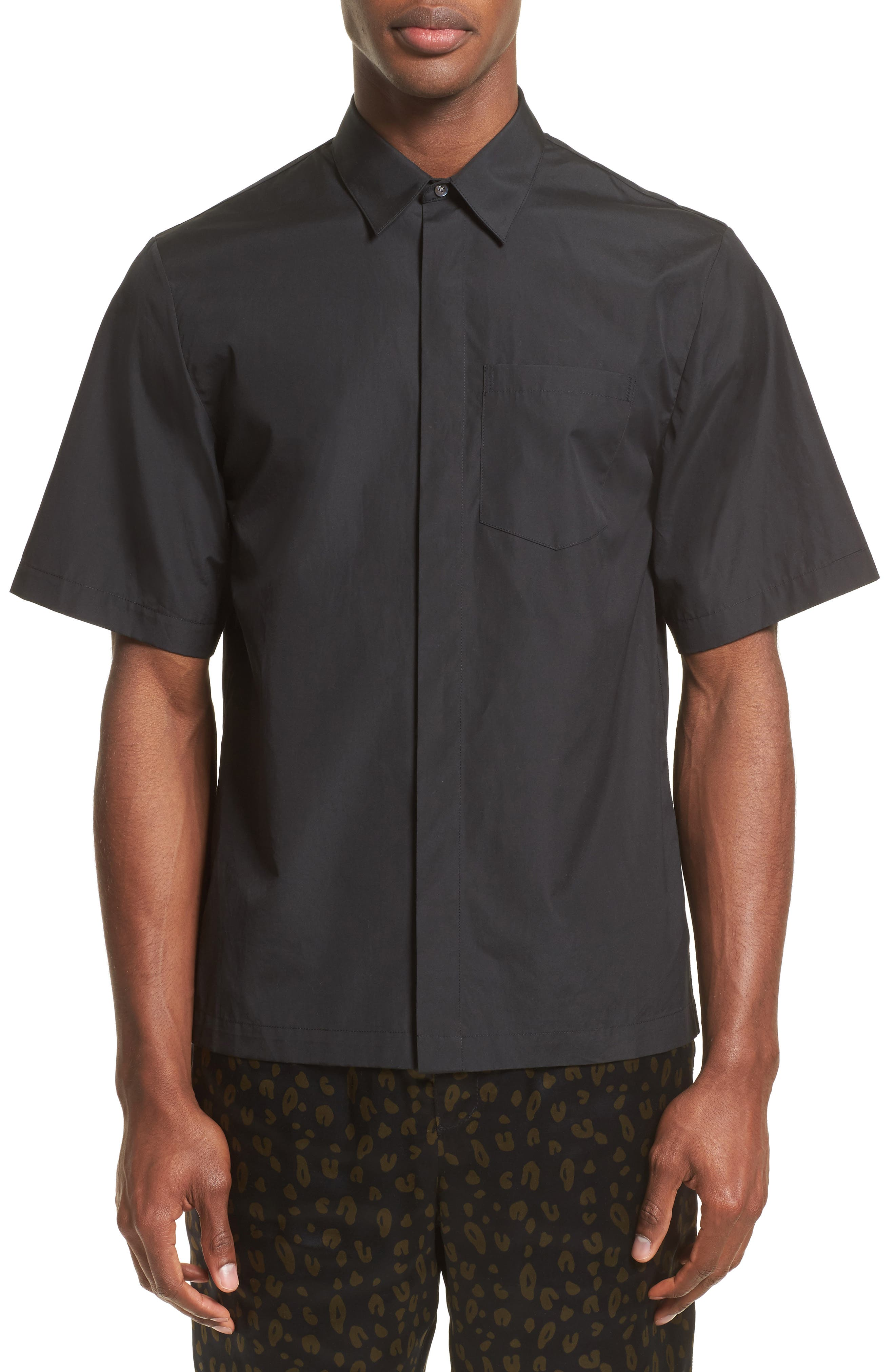 Main Image - 3.1 Phillip Lim Trim Fit Sport Shirt