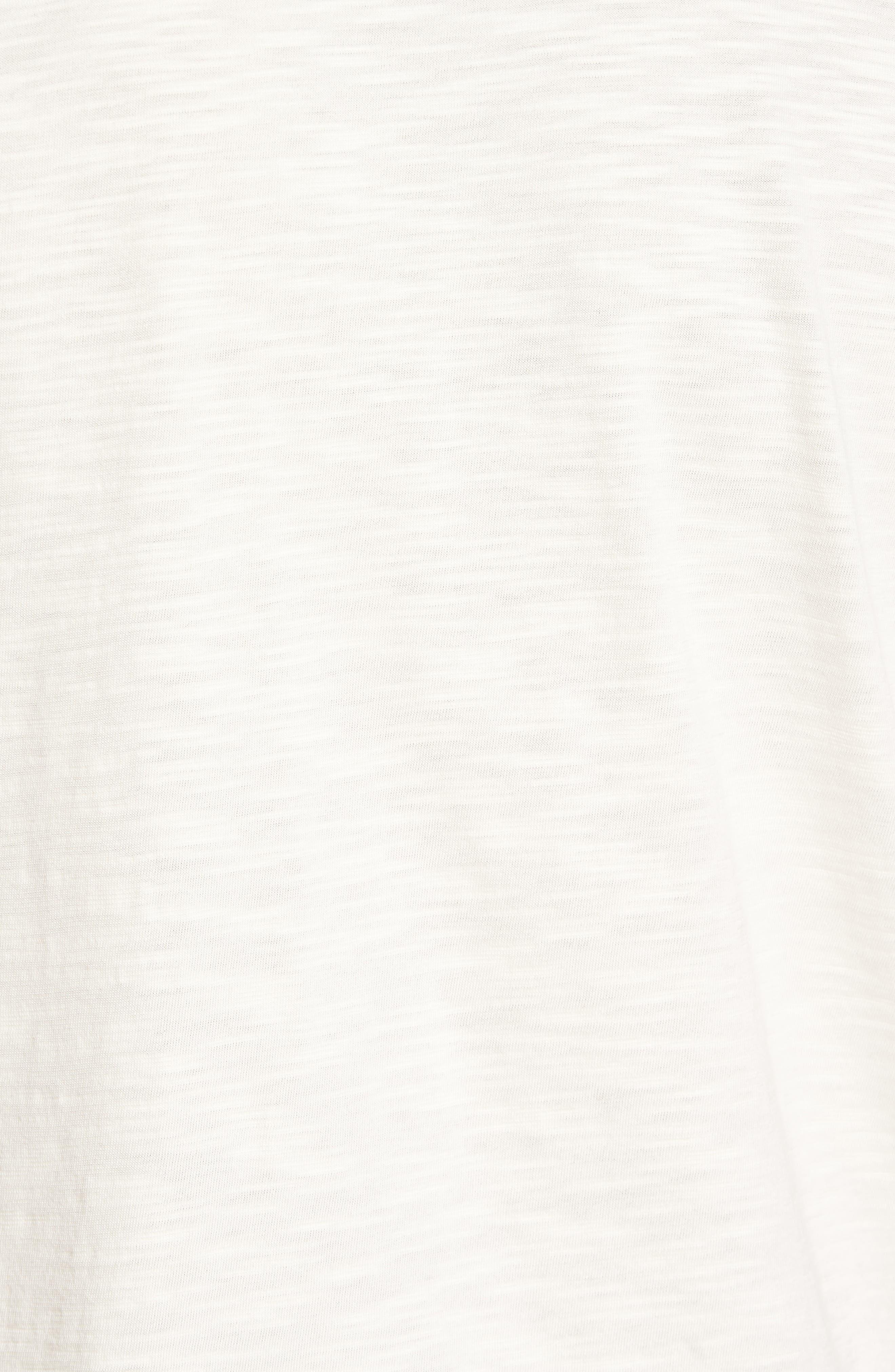 'Portside Player Spectator' Regular Pima Cotton Polo,                             Alternate thumbnail 5, color,                             Coconut