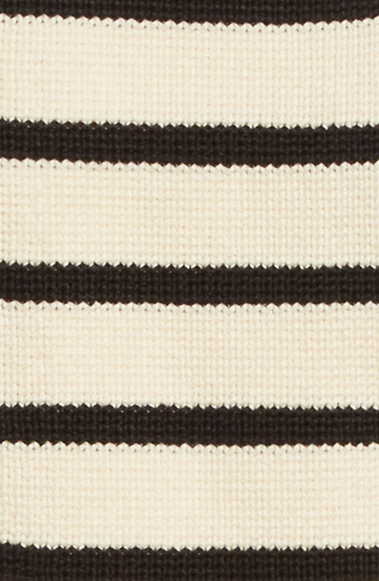 Mariner Stripe Dickey & Cuffs,                             Alternate thumbnail 3, color,                             Navy/ Ivory