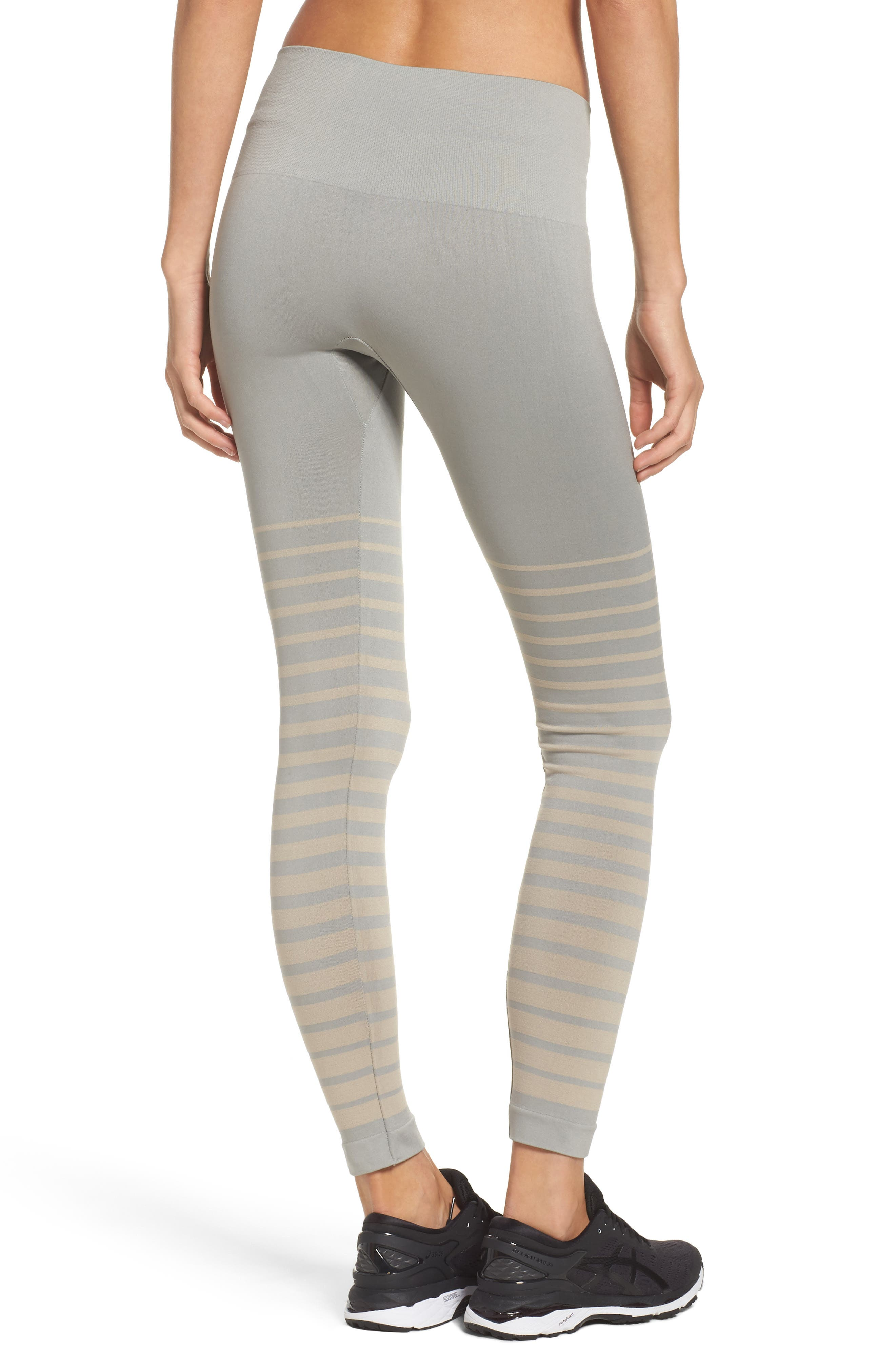 Front Runner High Waist Leggings,                             Alternate thumbnail 2, color,                             Wild Dove And Pink Tint