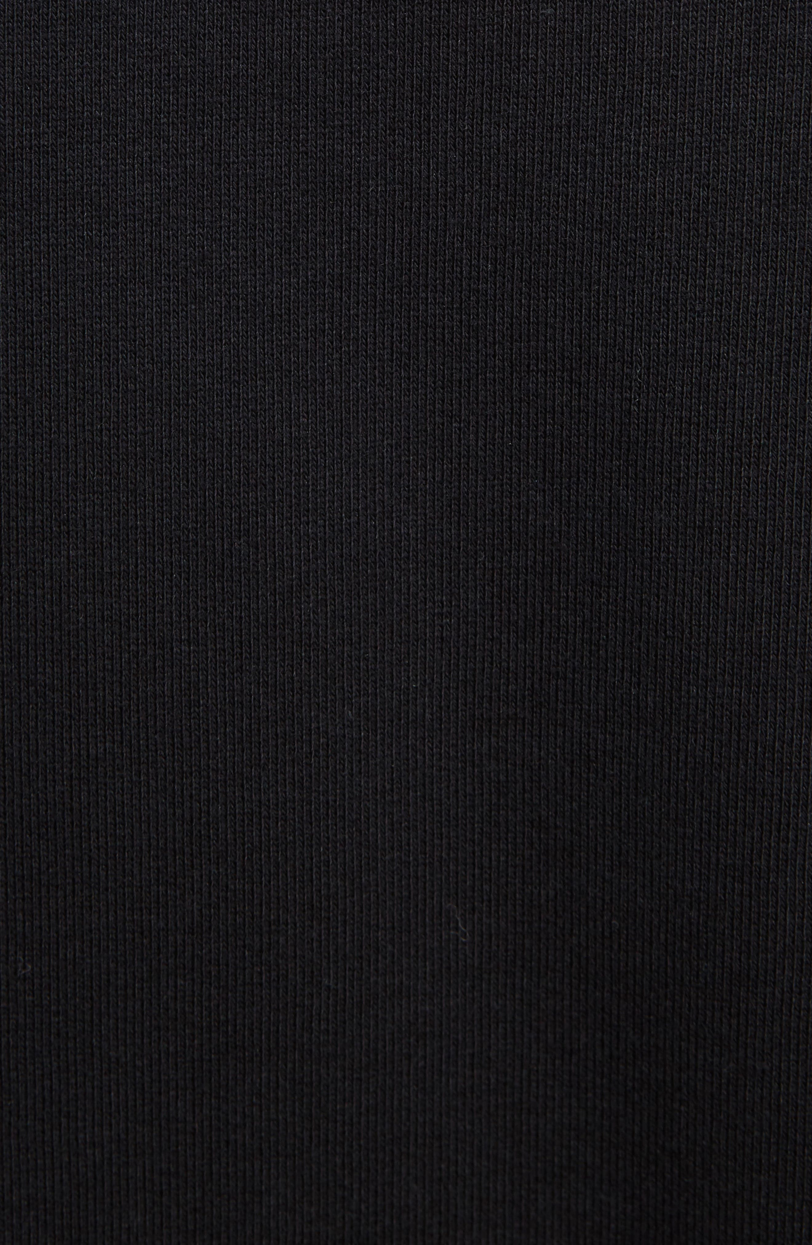 Paradise Patch Sweatshirt,                             Alternate thumbnail 5, color,                             Black
