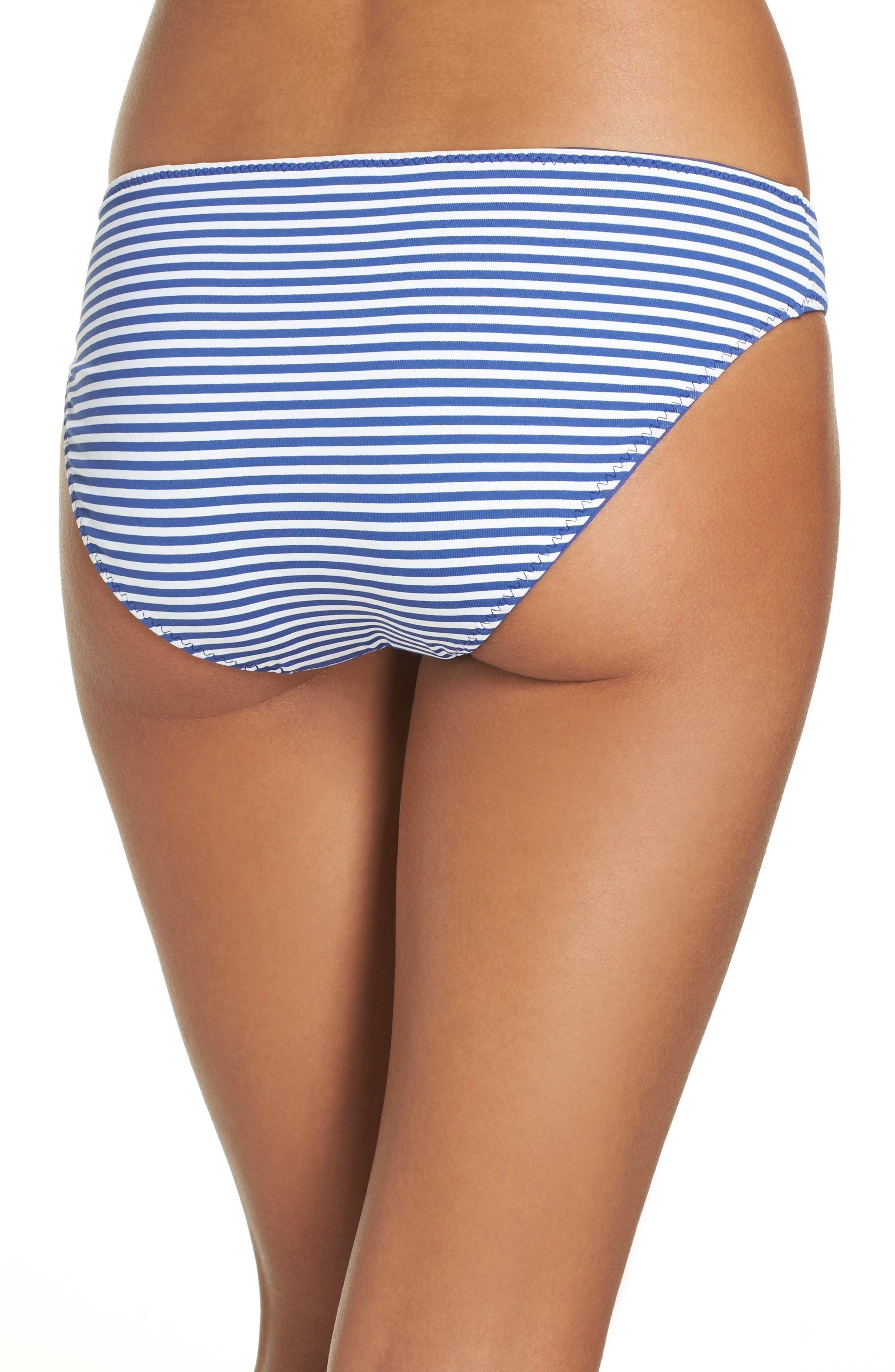 Alternate Image 3  - Tommy Bahama Reversible Hipster Bikini Bottoms