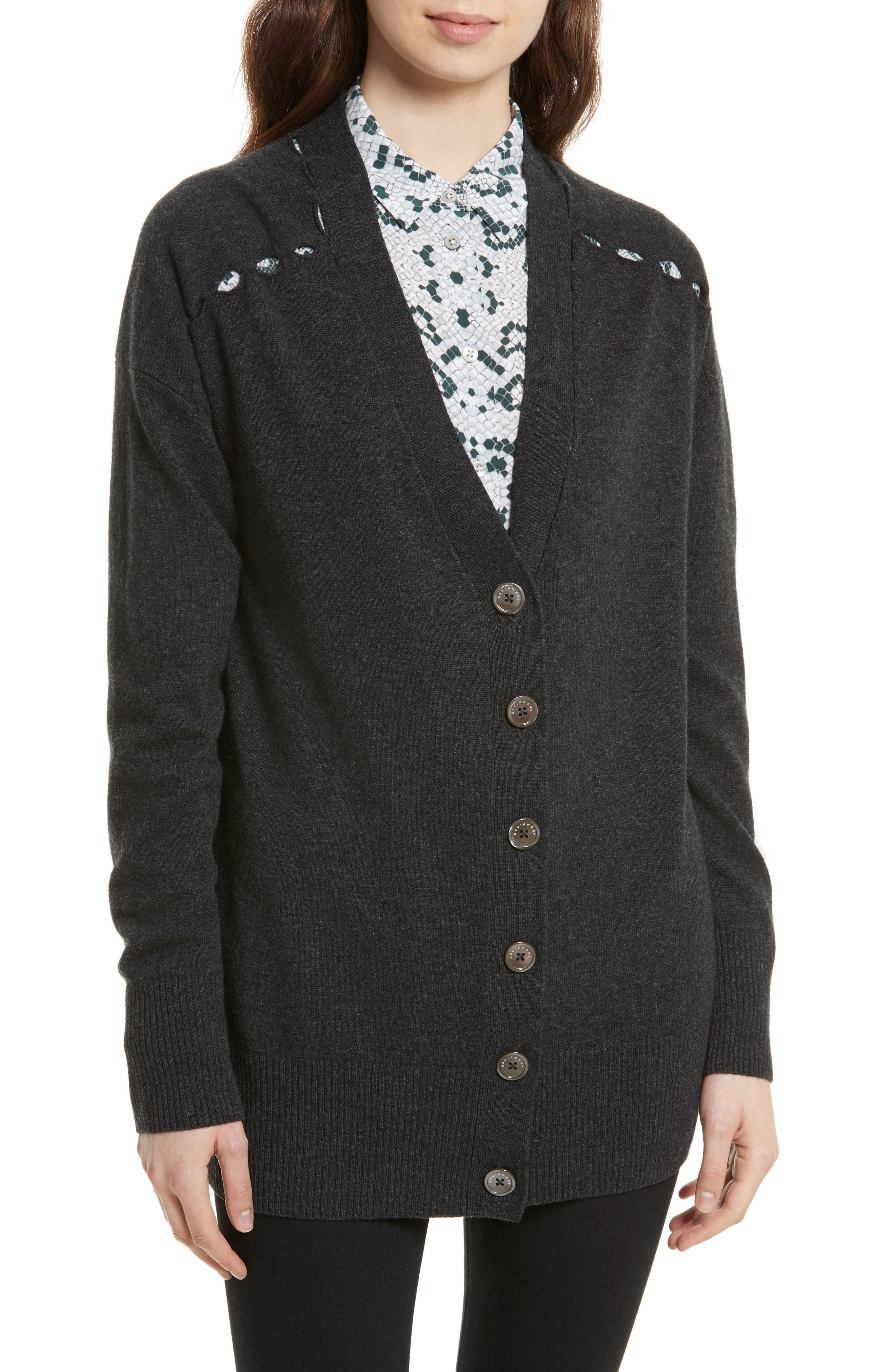 Equipment Gia Wool & Cashmere Cardigan