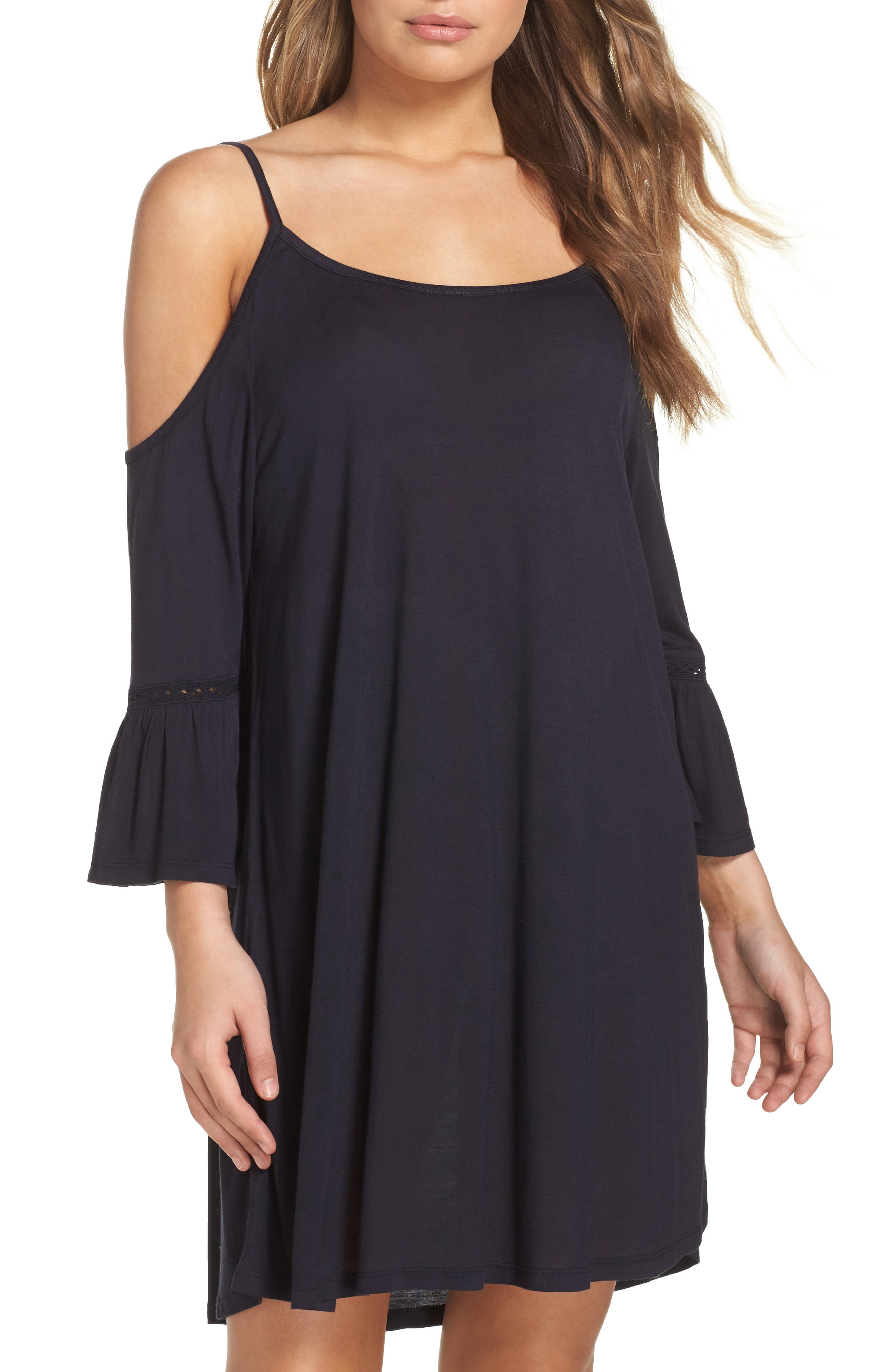 Leith Cold Shoulder Cover-Up Dress