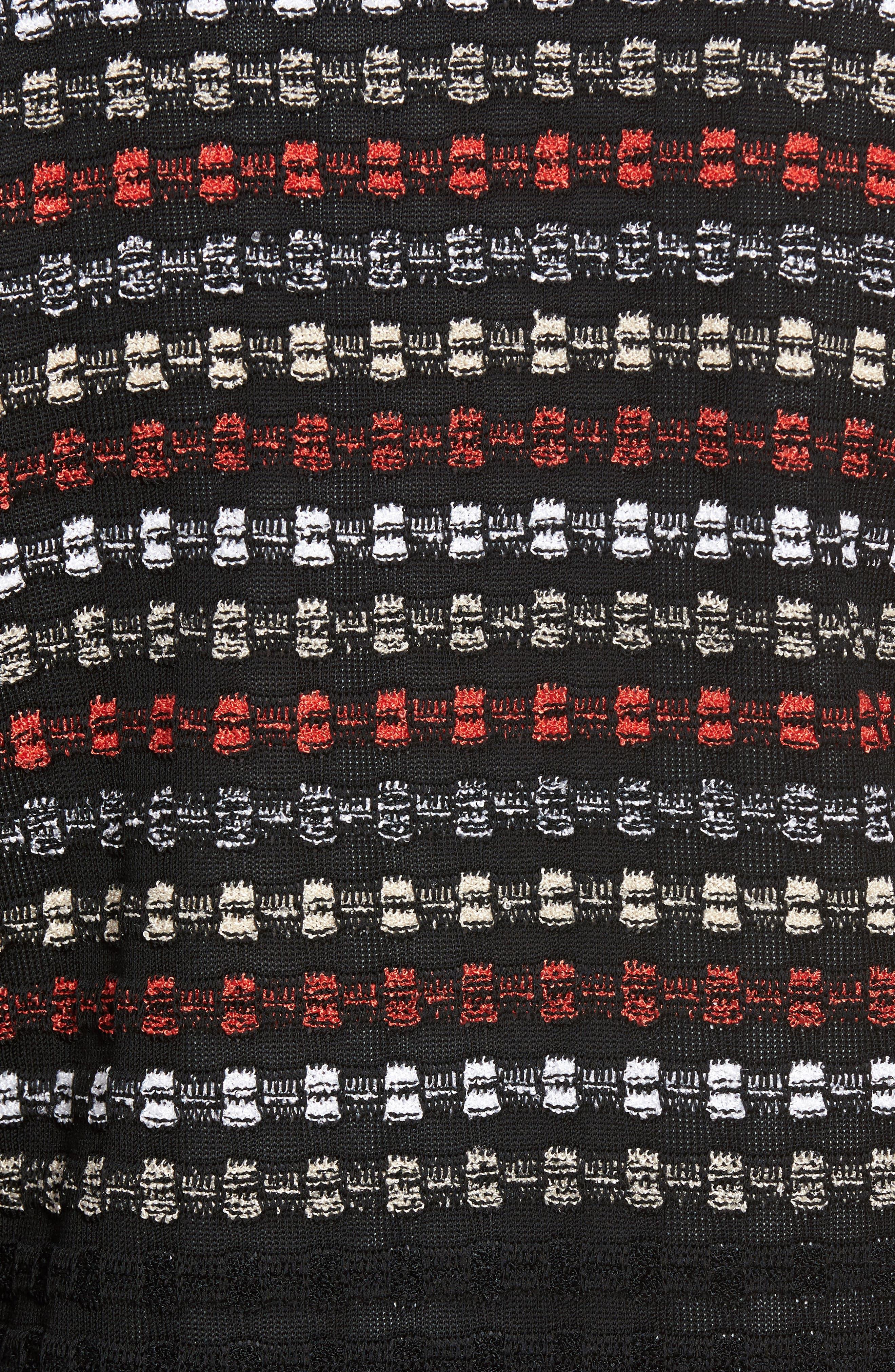 Alternate Image 5  - Ming Wang Three-Quarter Sleeve Knit Jacket